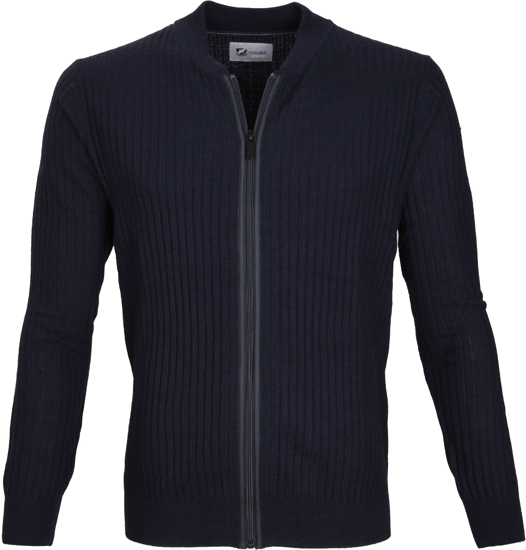 Suitable Prestige Cardigan Navy foto 0