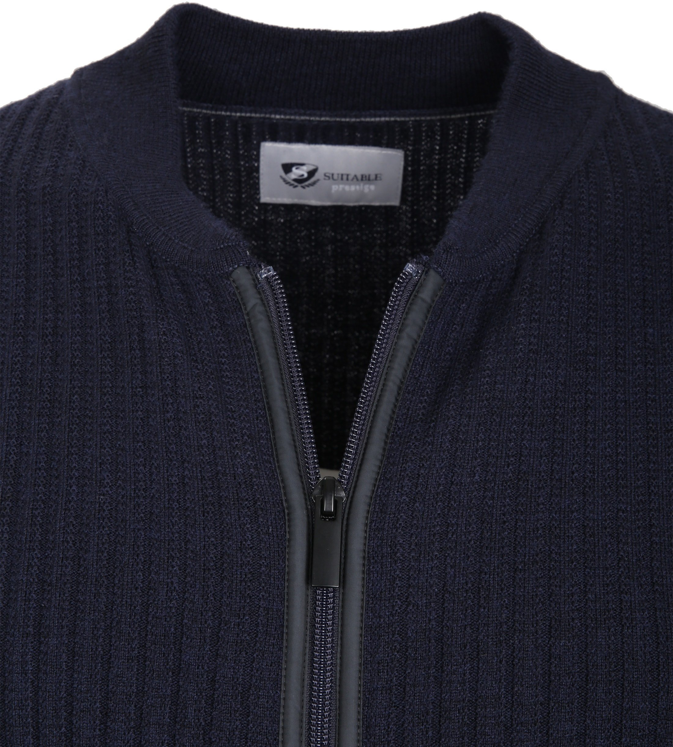 Suitable Prestige Cardigan Navy foto 1
