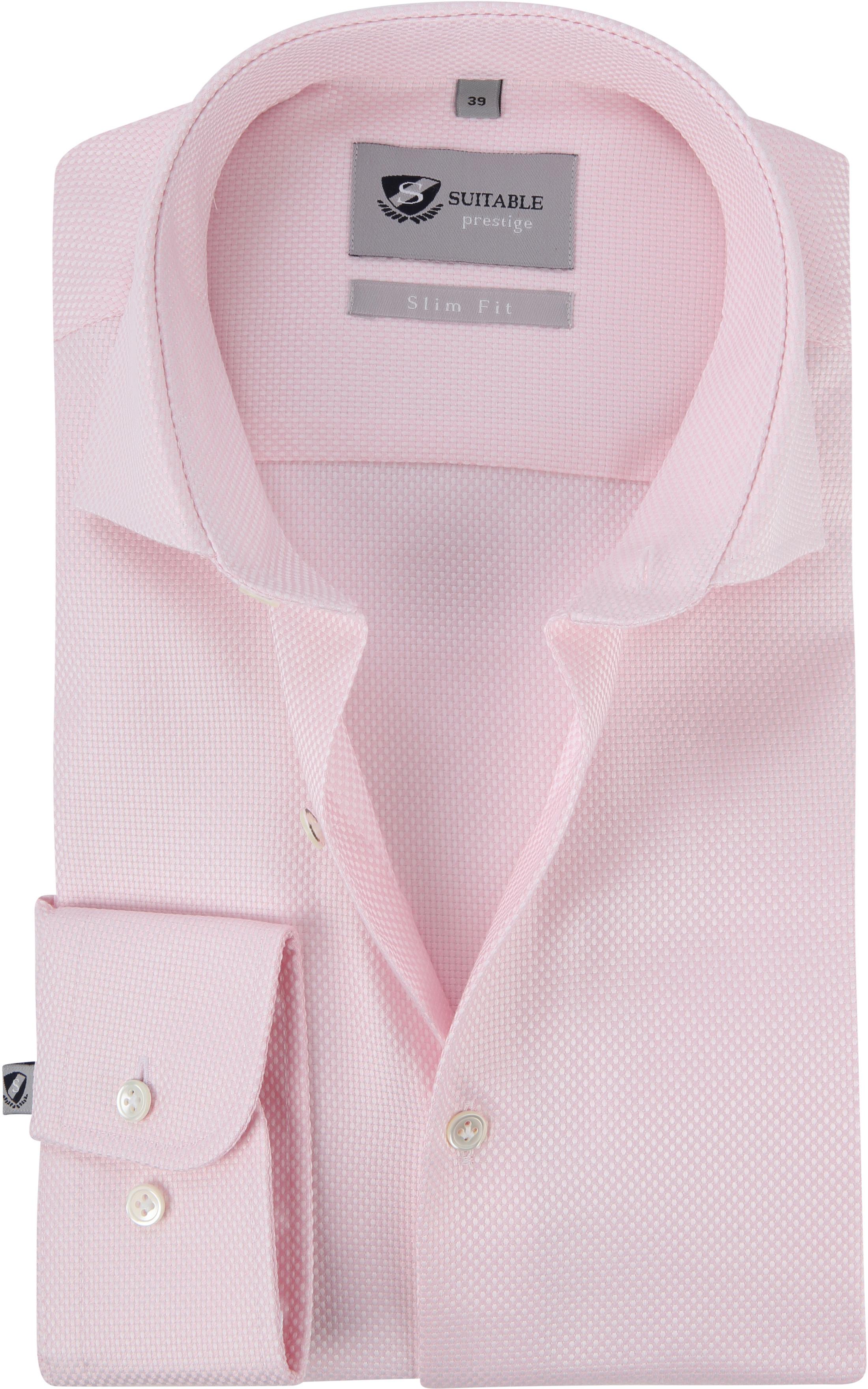 9845ca228f3c41 telefoonnummer mijn simpel Suitable Prestige Overhemd Albini Roze foto 0