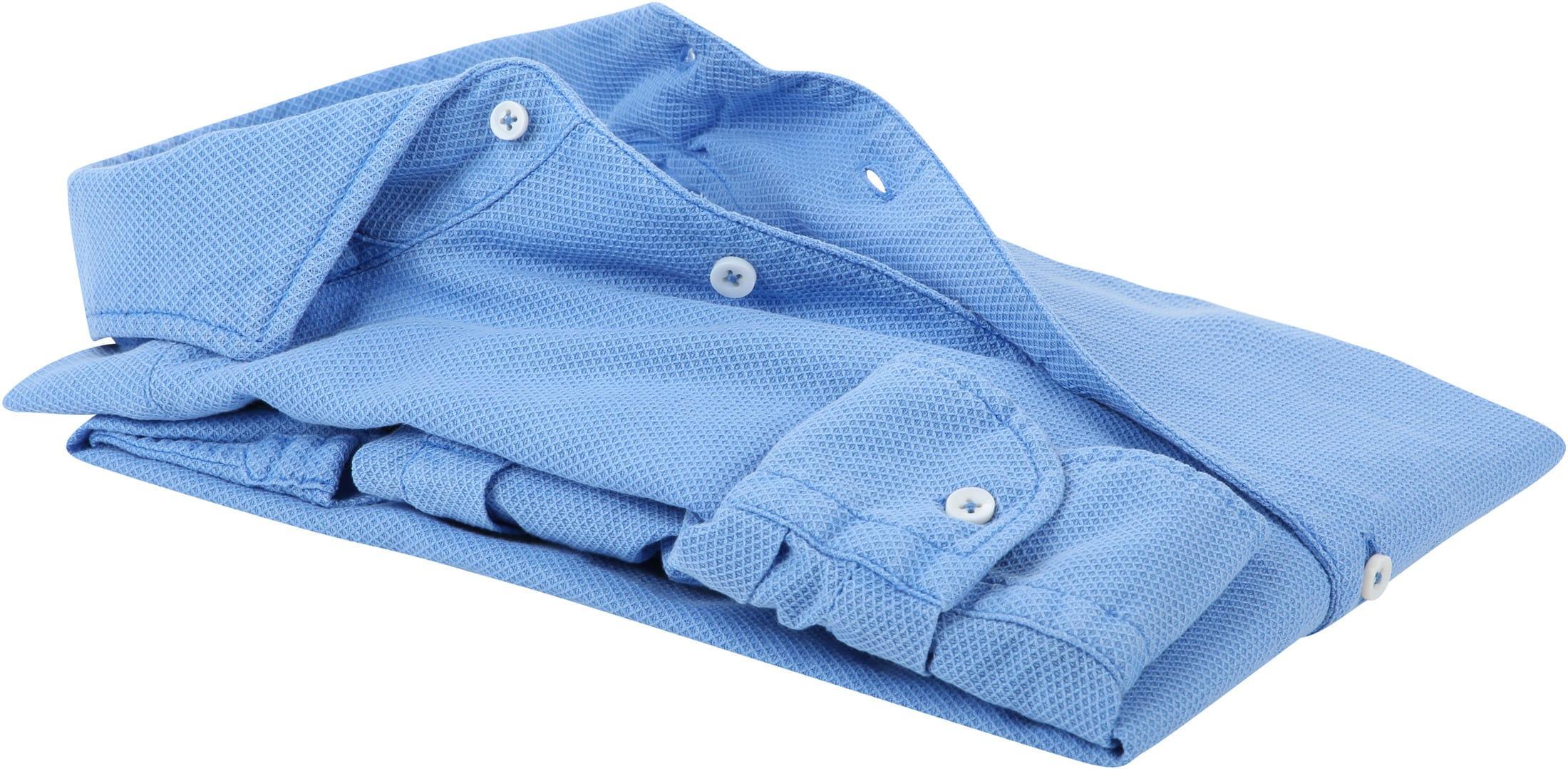 Suitable Prestige Overhemd Lichtblauw foto 3