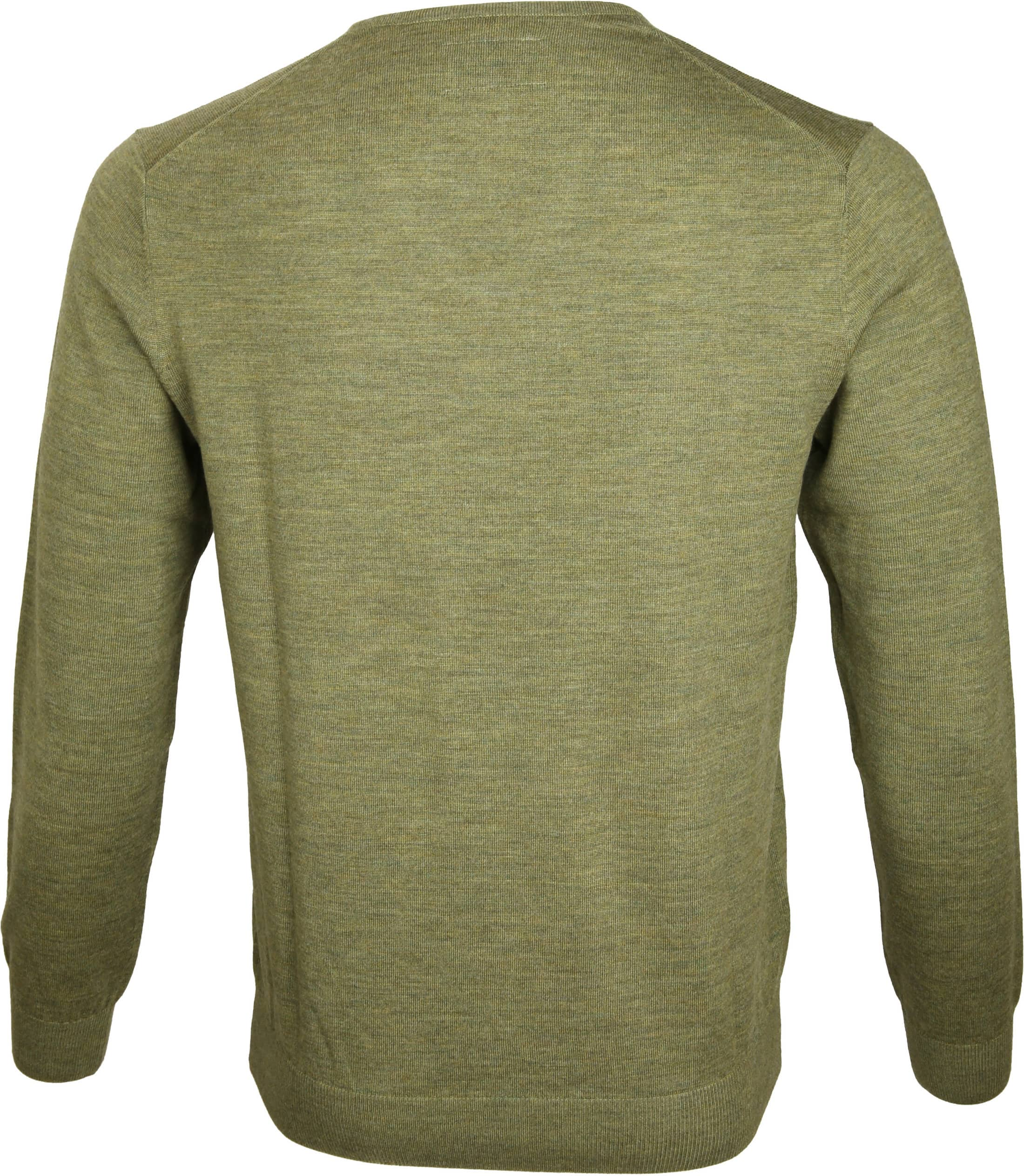 Suitable Prestige Pullover V-Ausschnitt Grün foto 3