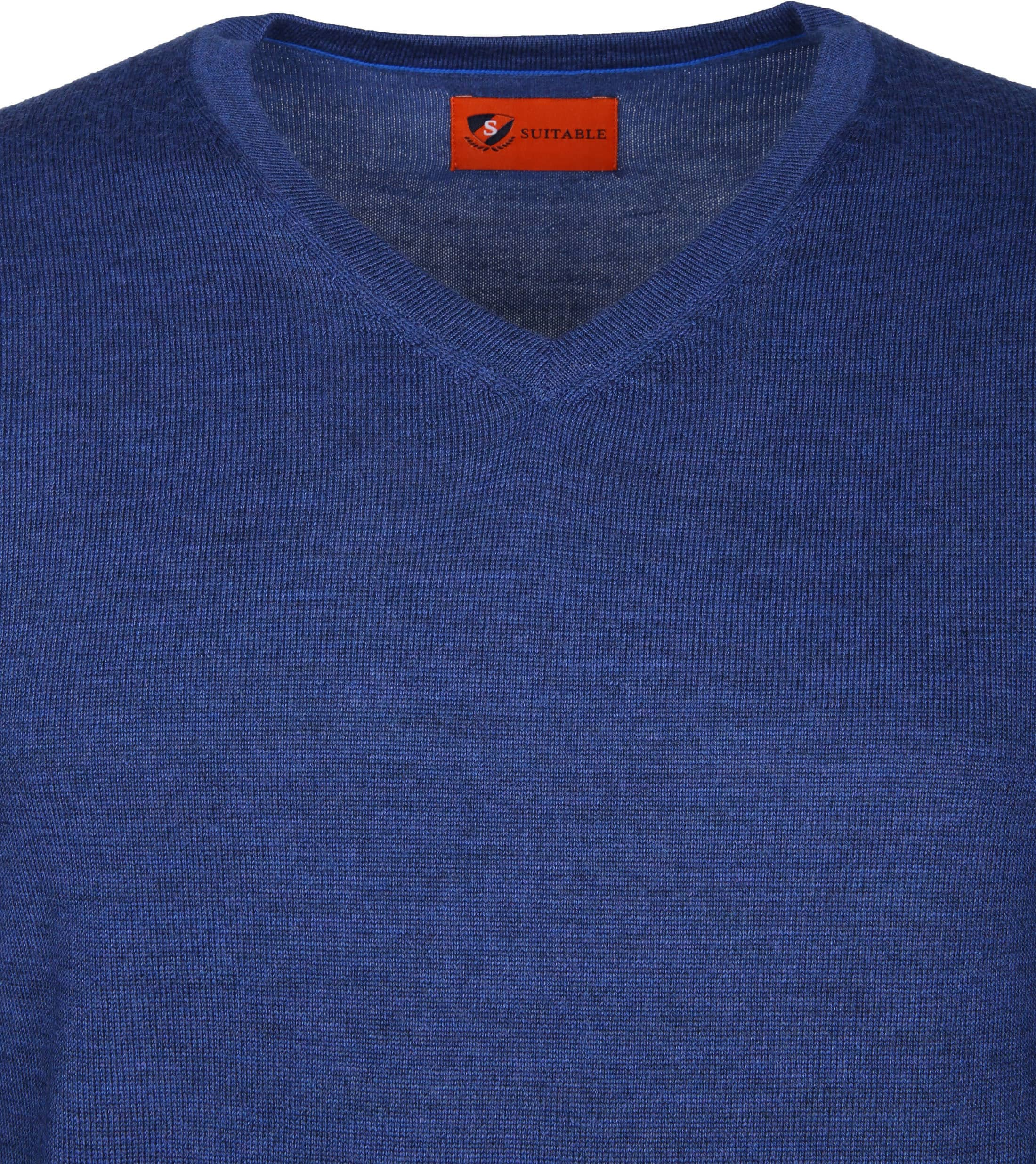 Suitable Pullover Aron Merino Blue foto 1