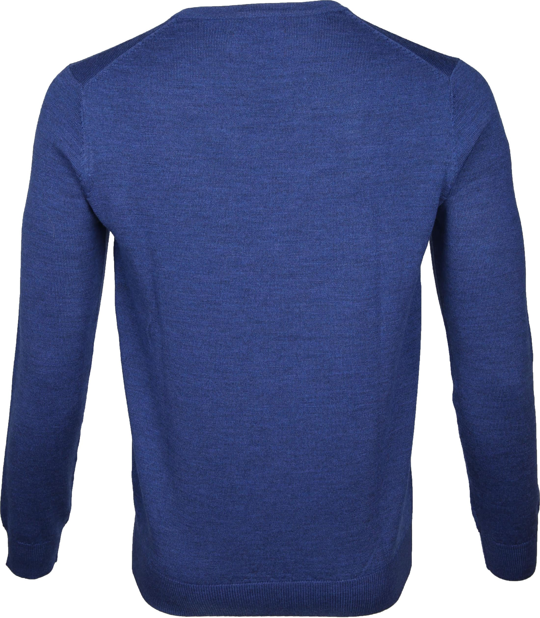 Suitable Pullover Aron Merino Blue foto 3