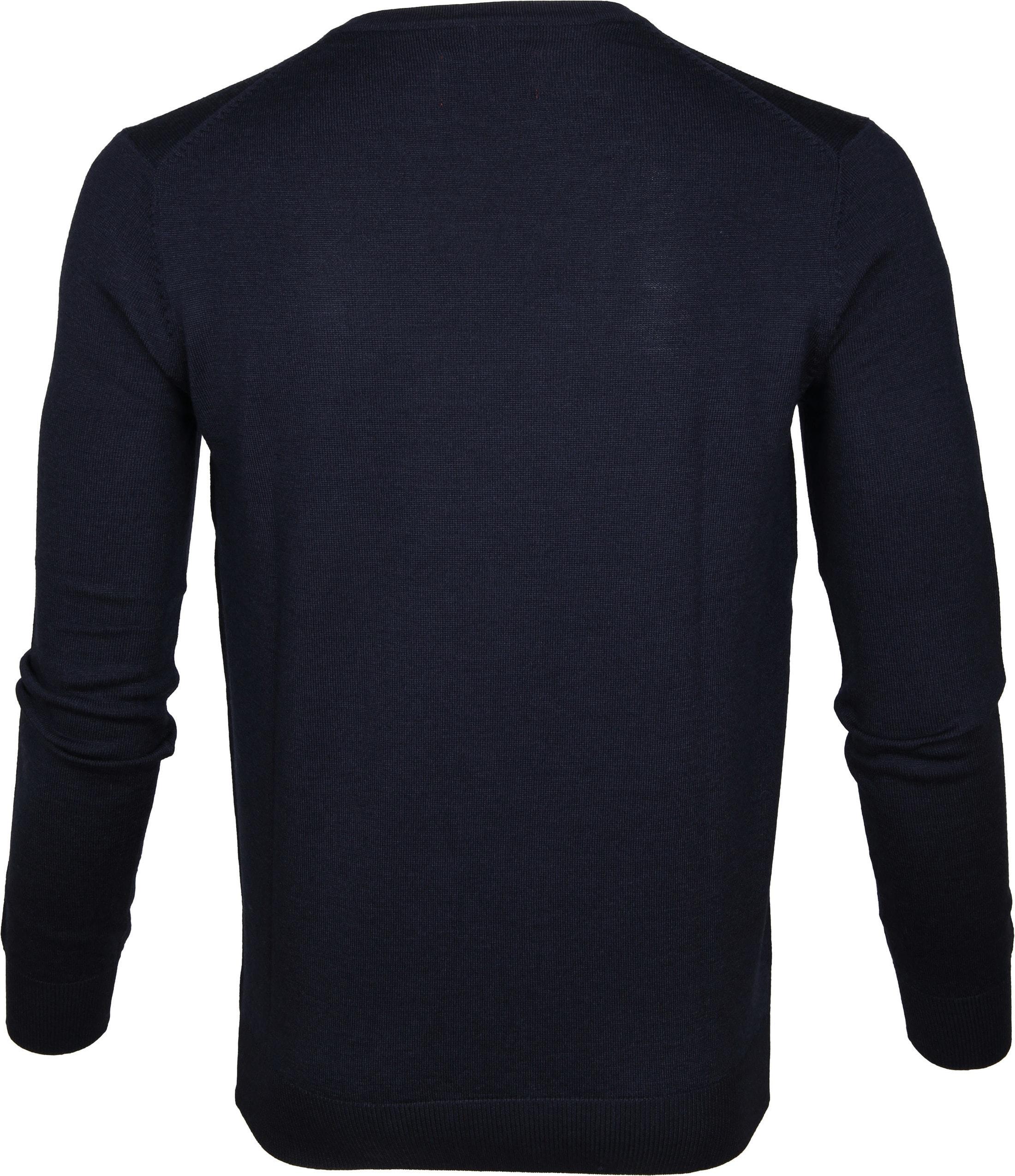 Suitable Pullover Aron Merino Navy foto 3