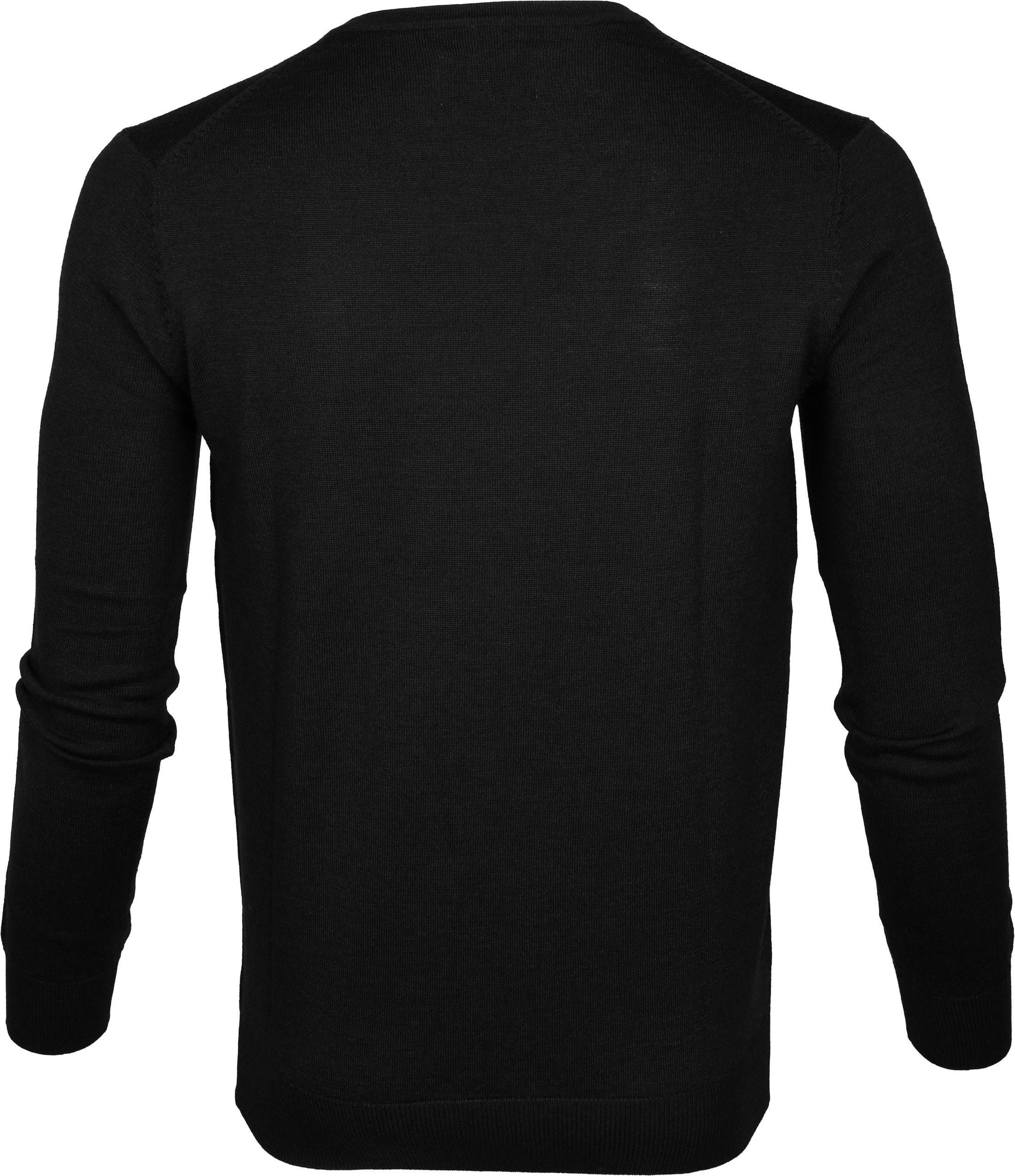 Suitable Pullover Aron Merino Zwart foto 3