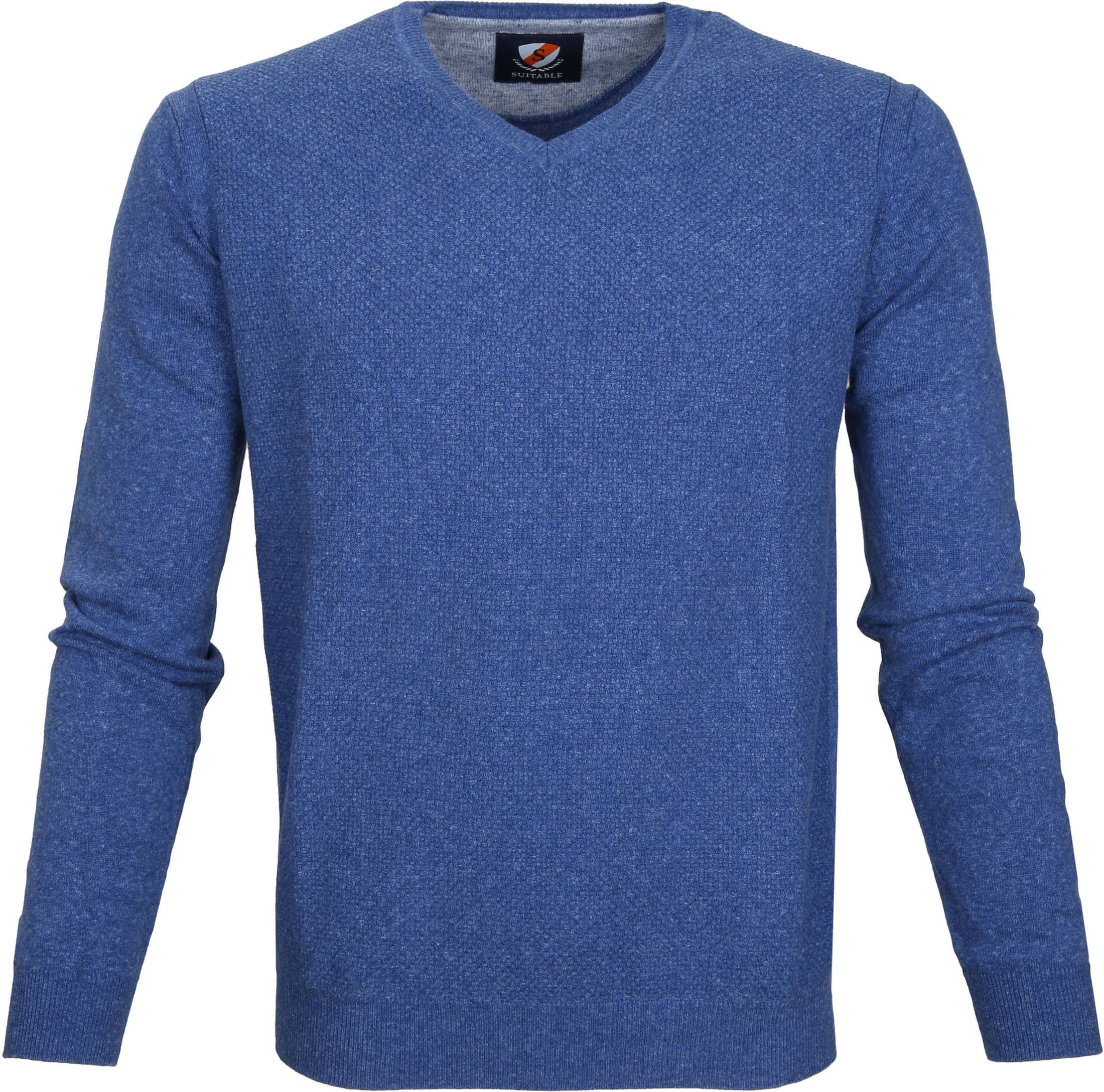 Suitable Pullover Basket Indigo foto 0