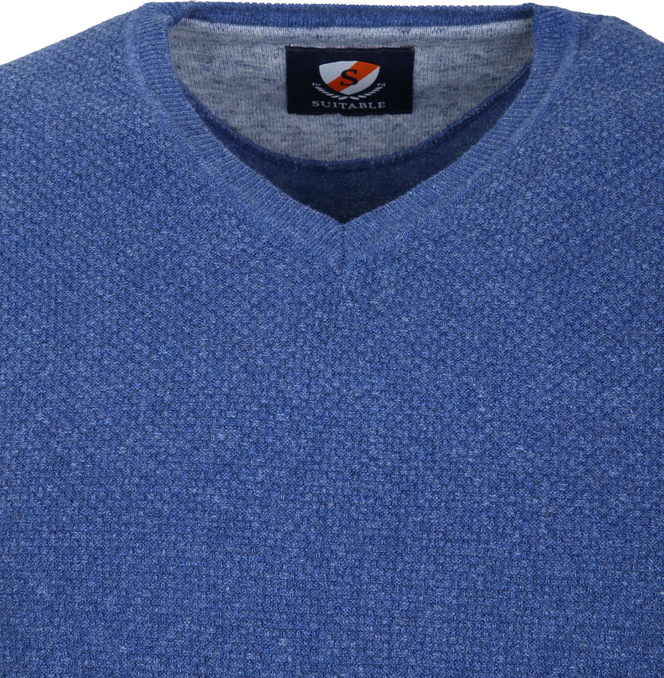 Suitable Pullover Basket Indigo foto 1