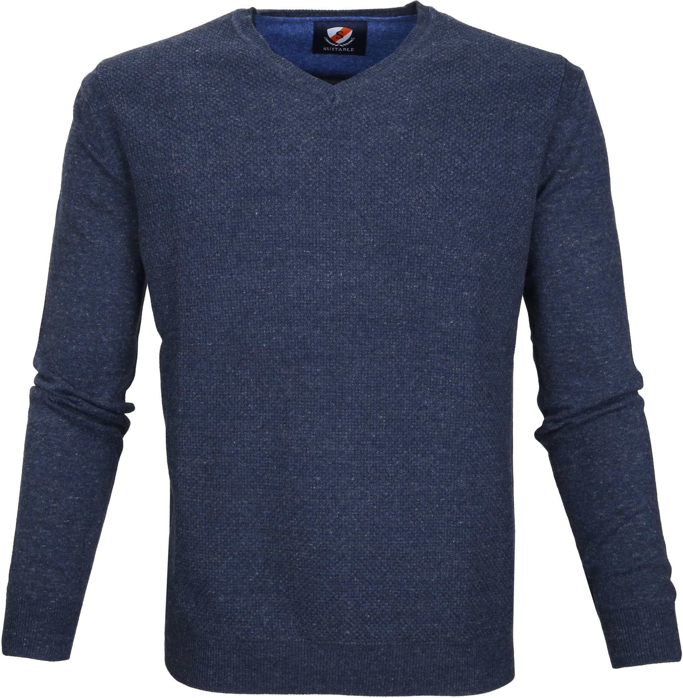 Suitable Pullover Basket Navy foto 0
