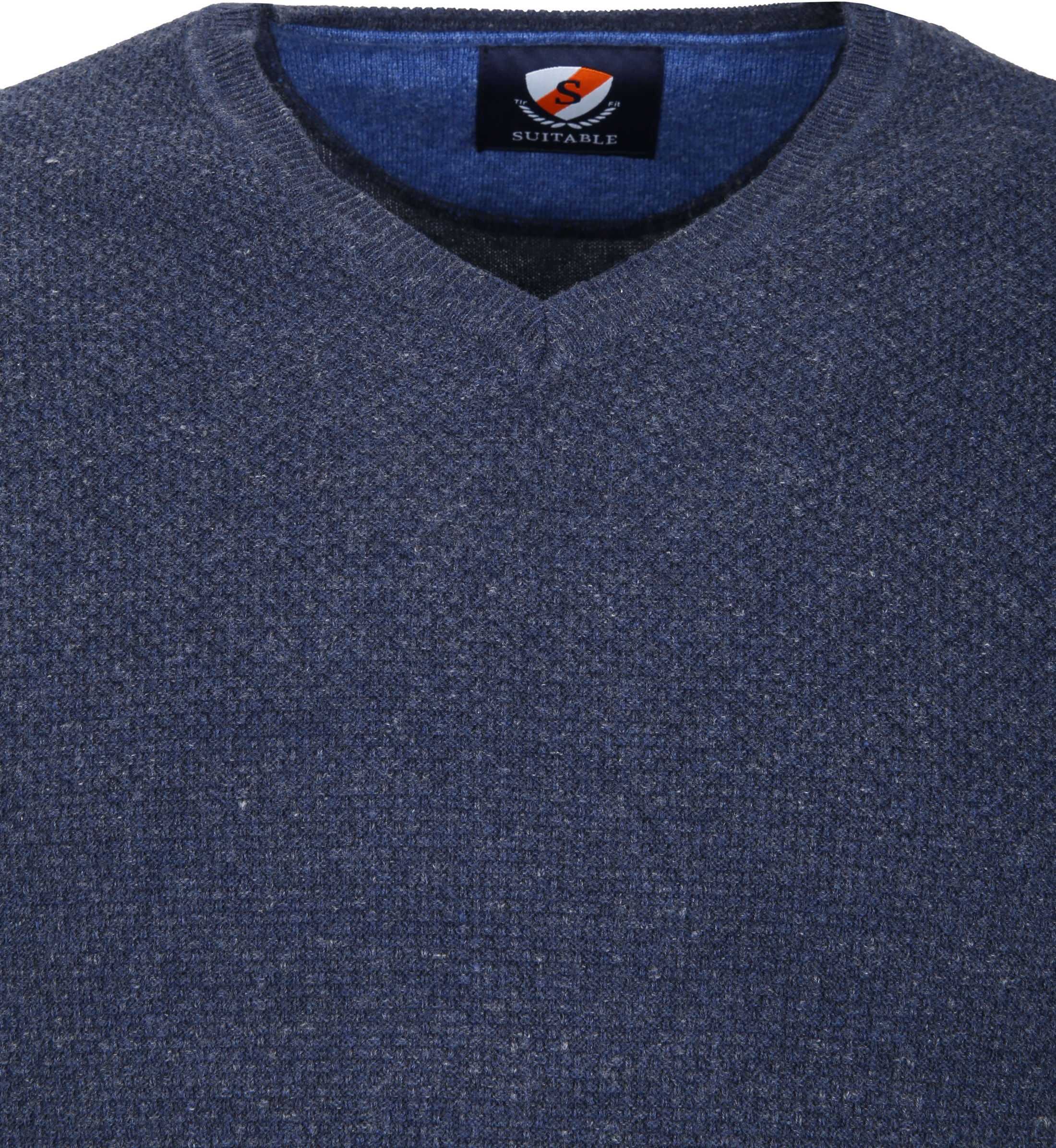 Suitable Pullover Basket Navy foto 1