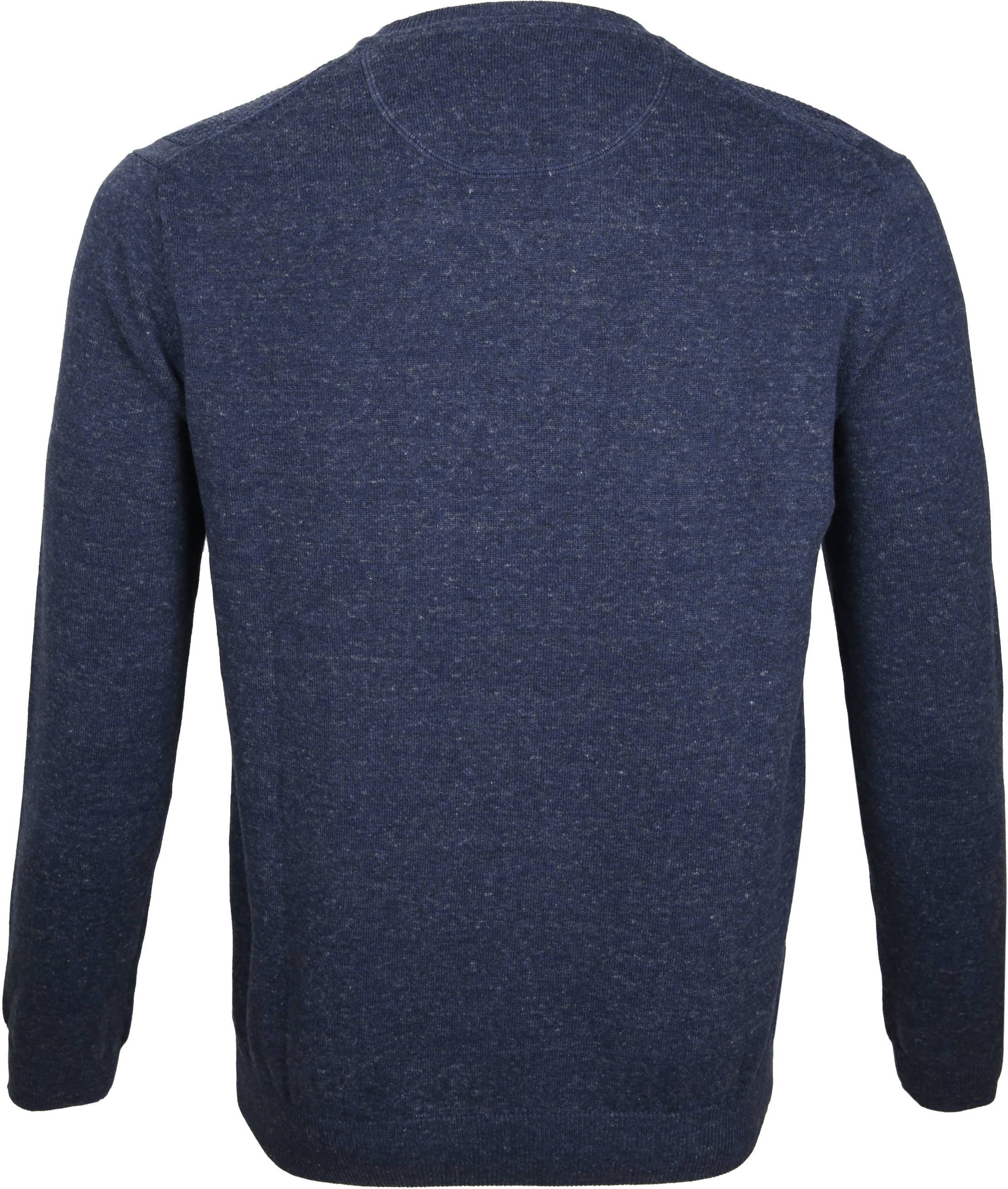 Suitable Pullover Basket Navy foto 3