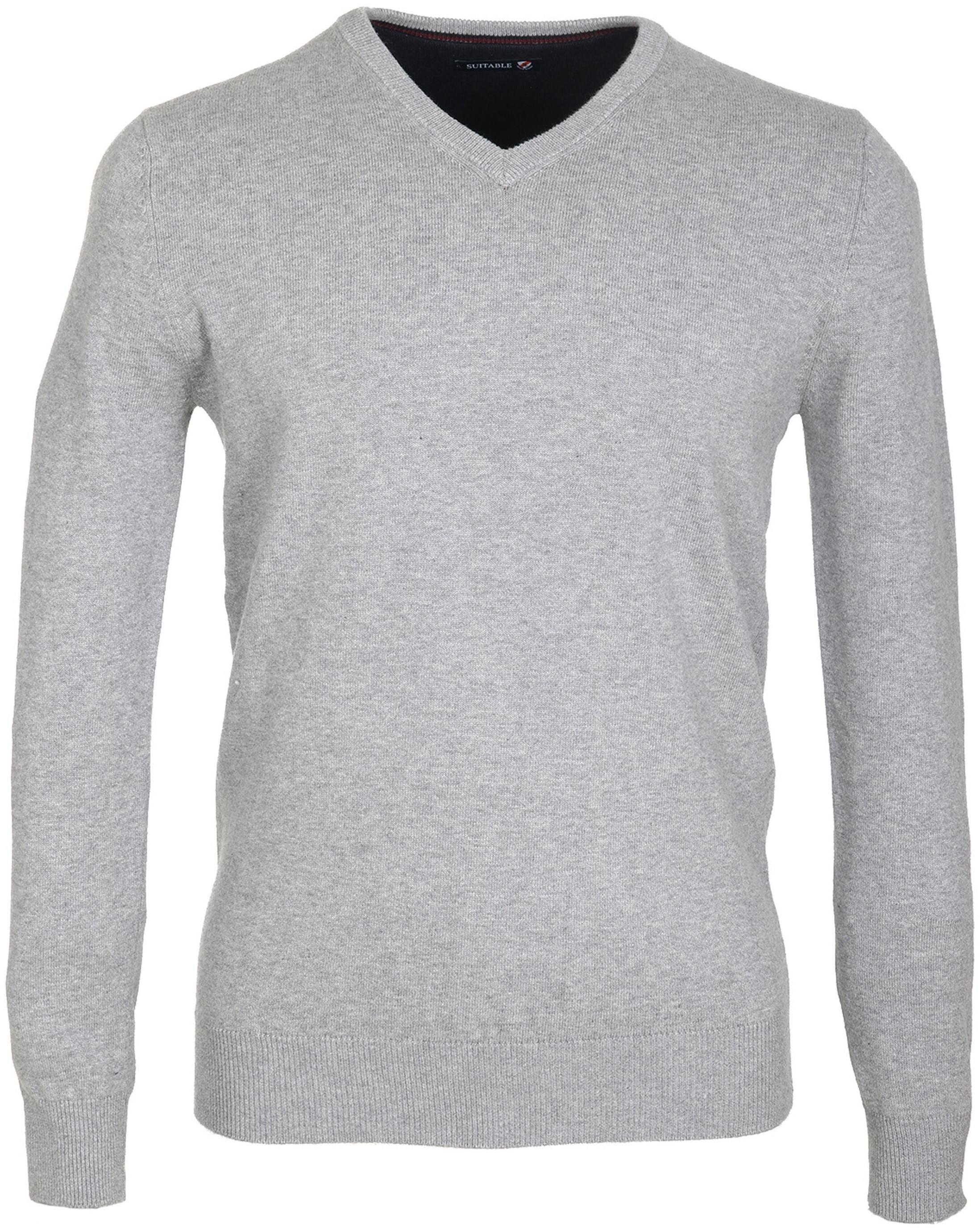 buy online 95a7b c92d8 Suitable Pullover Baumwolle Grau SPE17305VI01ST-940 online ...