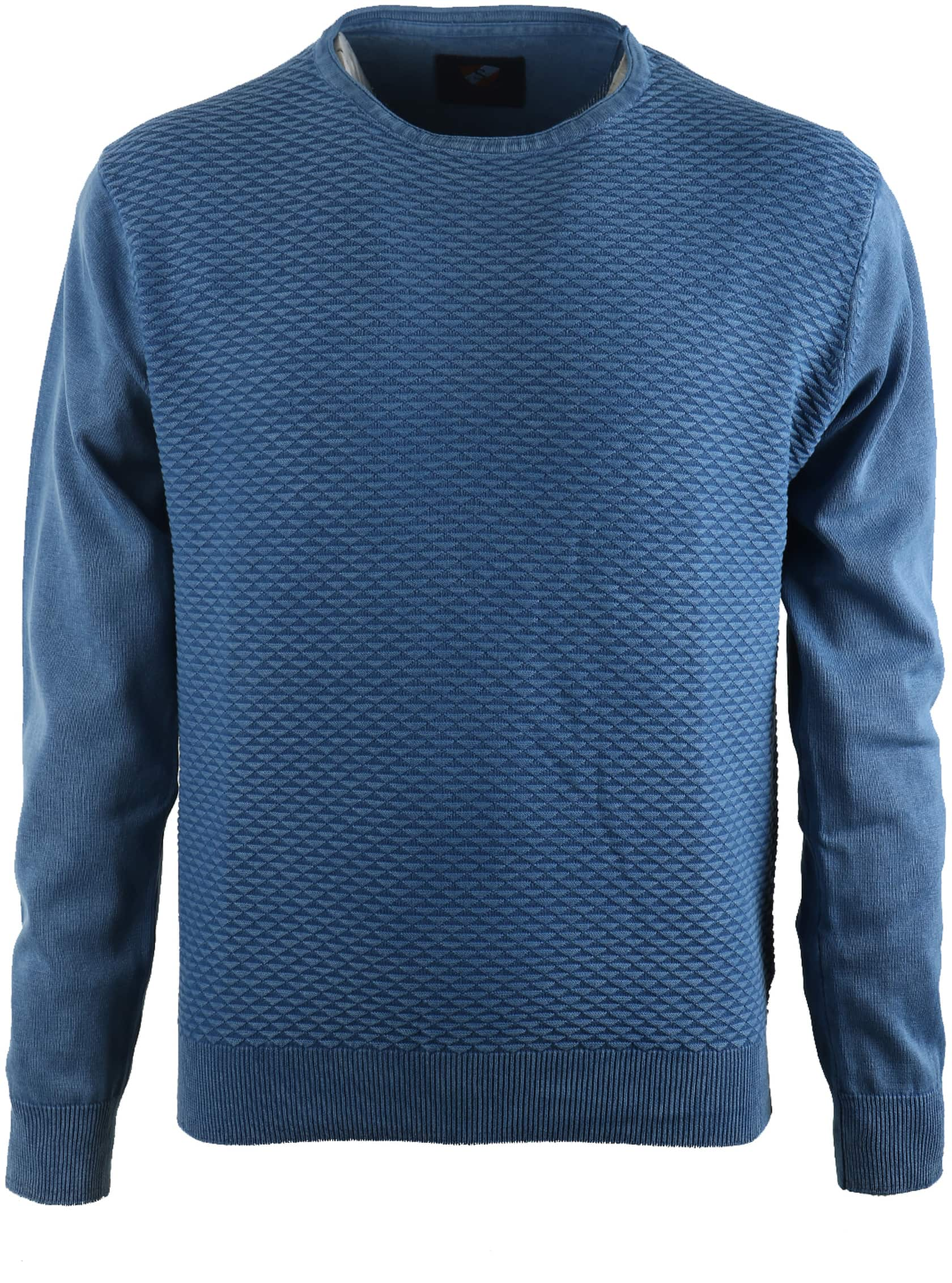 Suitable Pullover Blauw Triangle foto 0