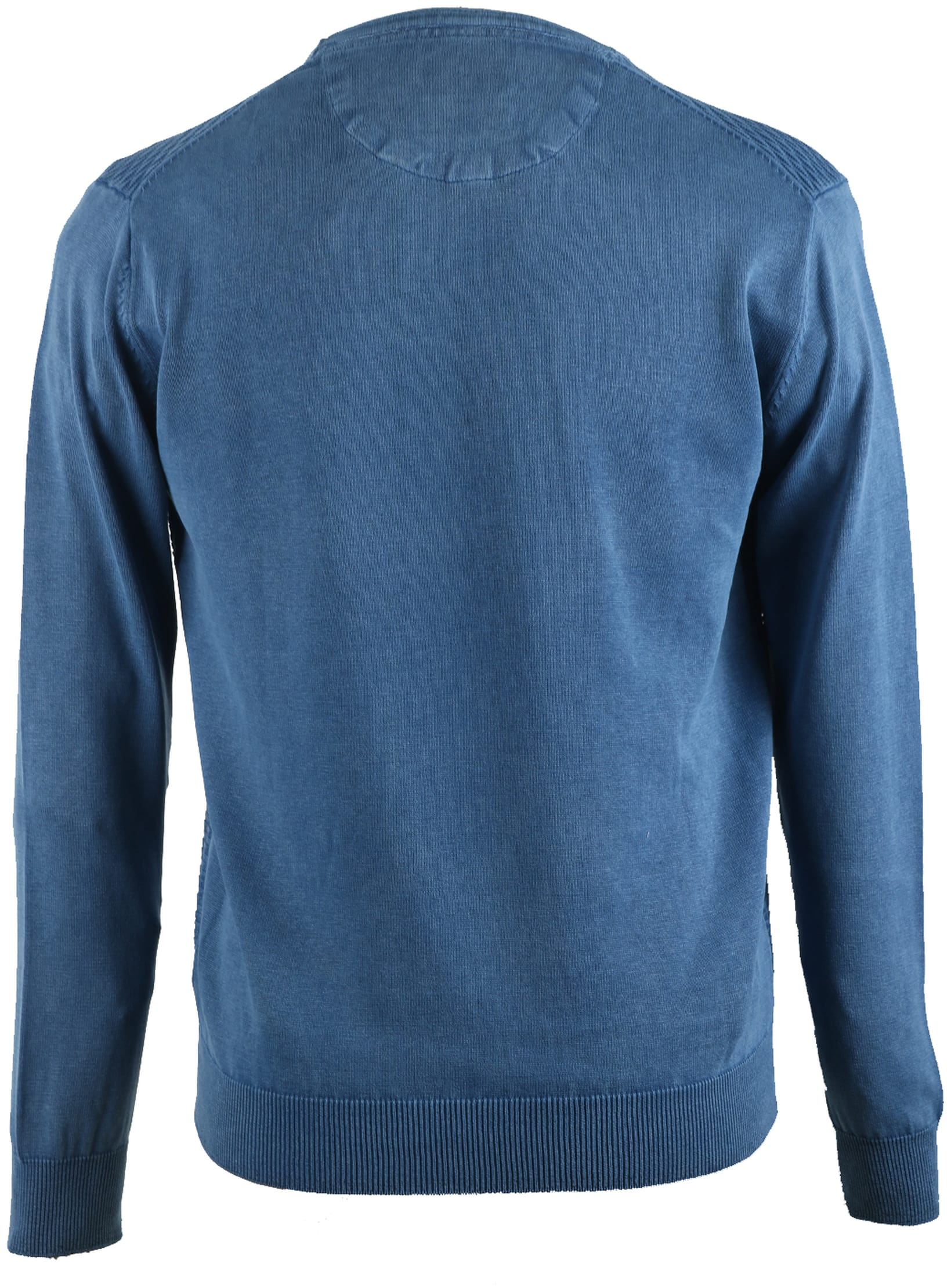 Suitable Pullover Blauw Triangle foto 1