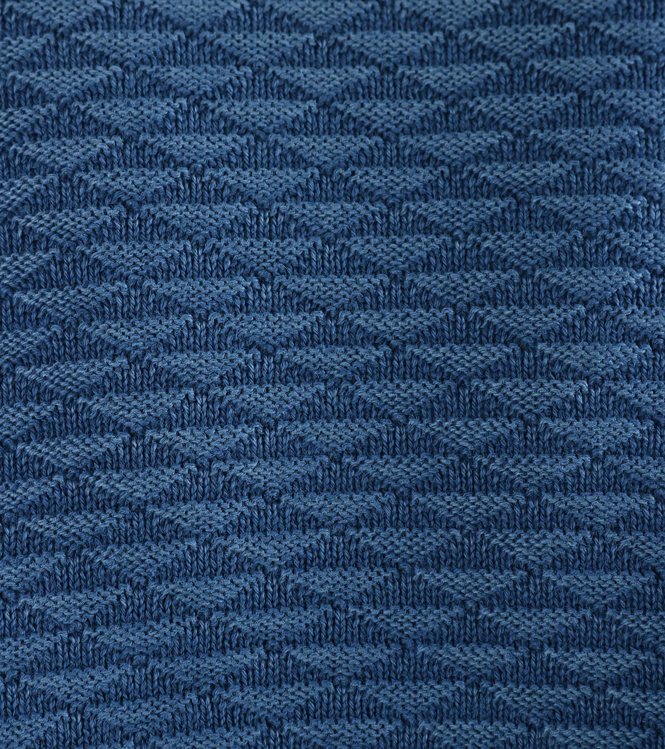 Suitable Pullover Blauw Triangle foto 2