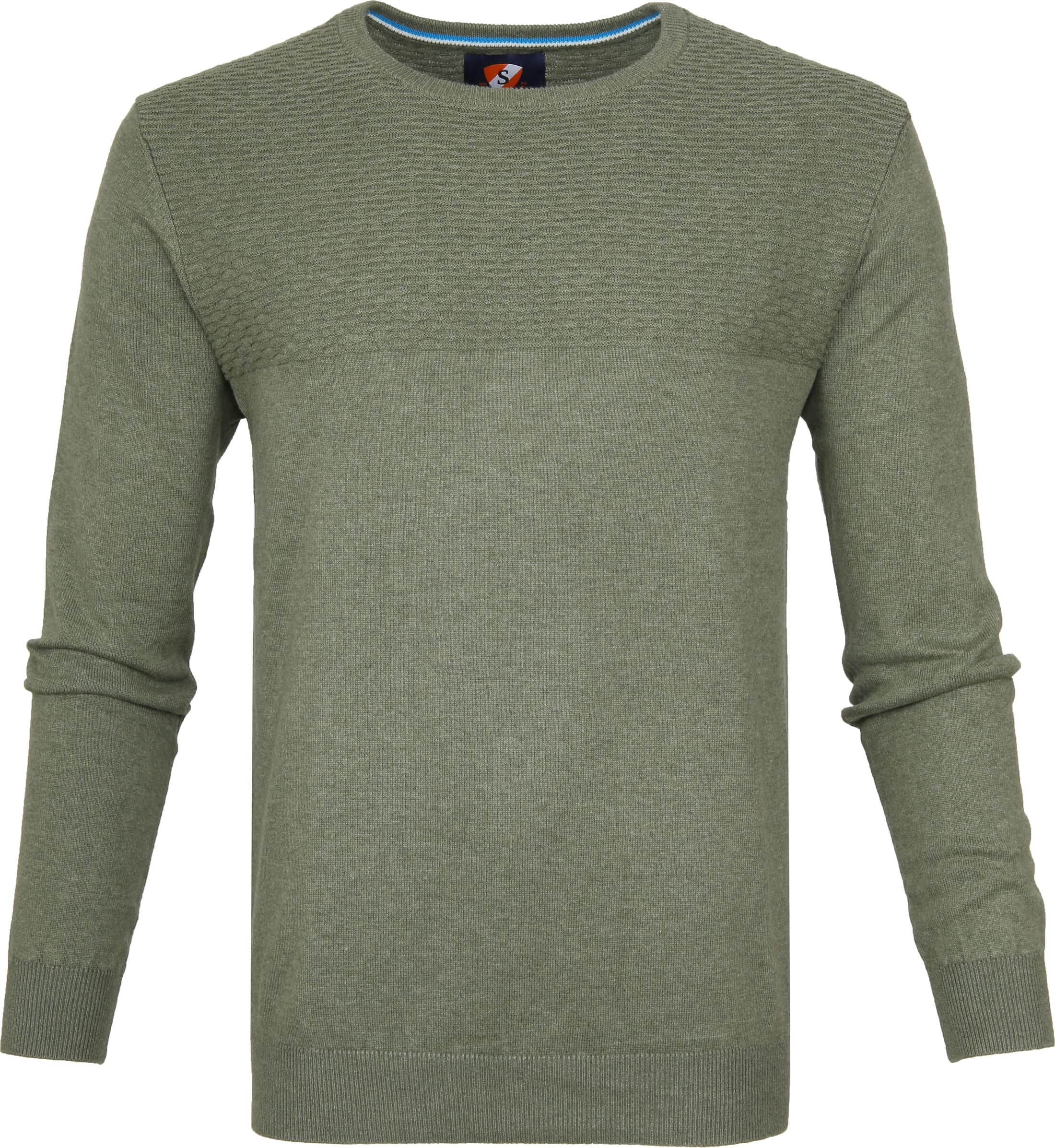Suitable Pullover Brick Army foto 0