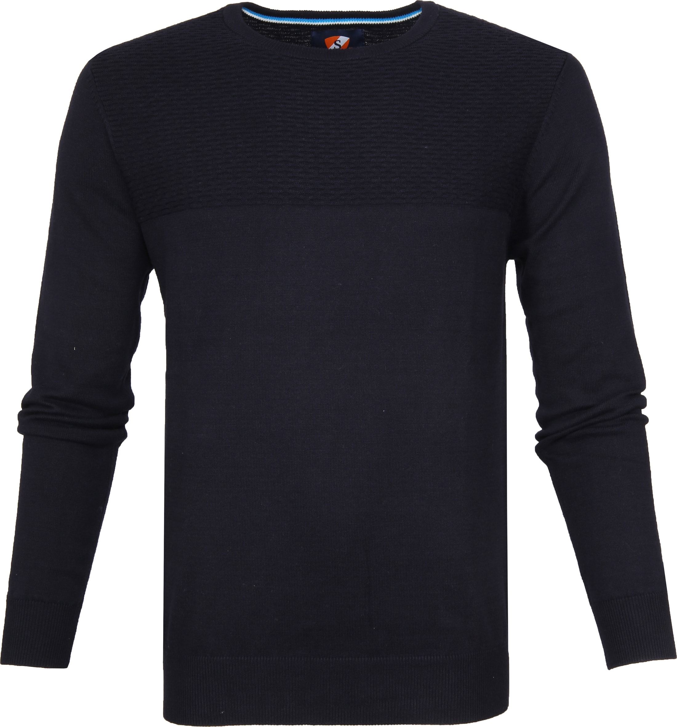 Suitable Pullover Brick Navy foto 0