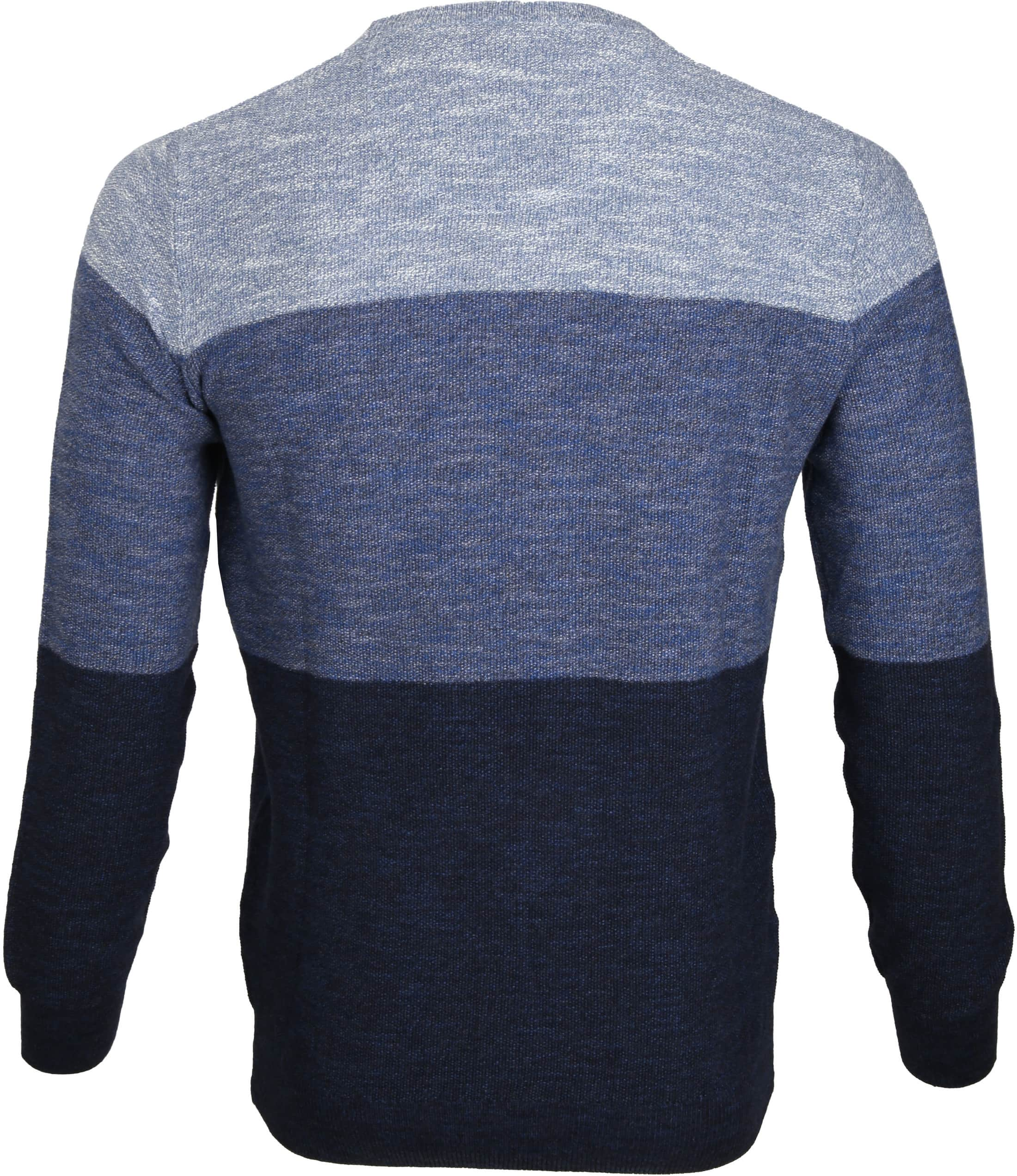 Suitable Pullover Colour Blocks Blau foto 2