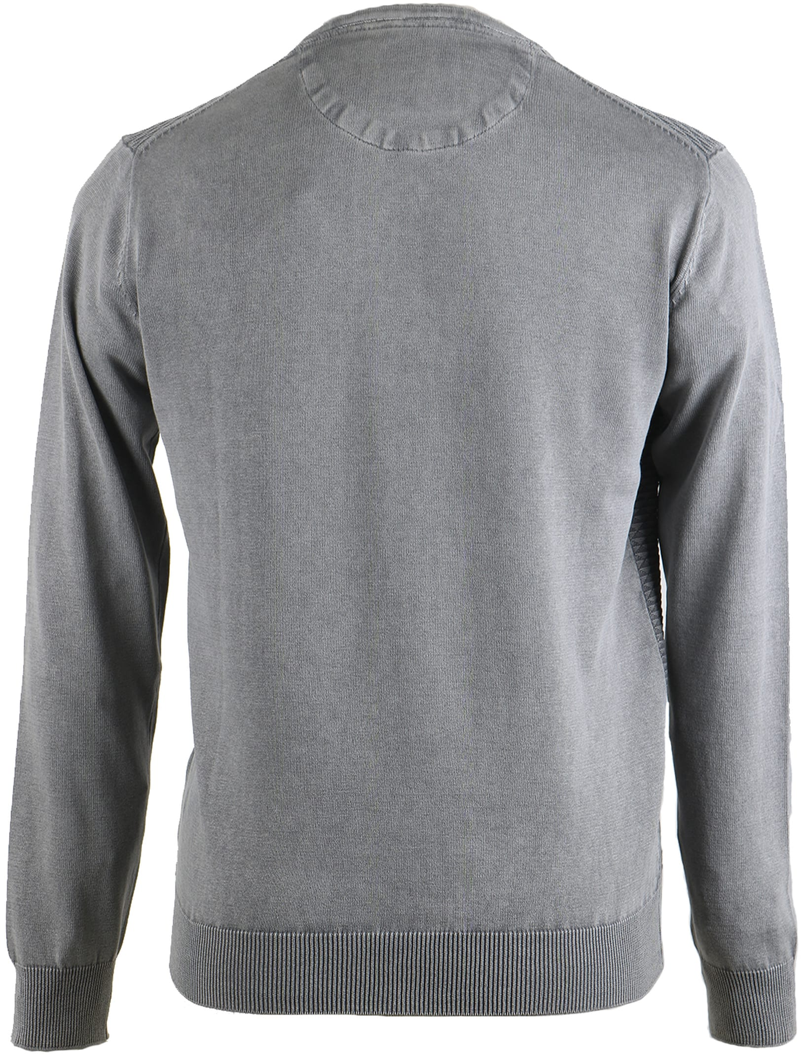 Suitable Pullover Grijs Triangle foto 1