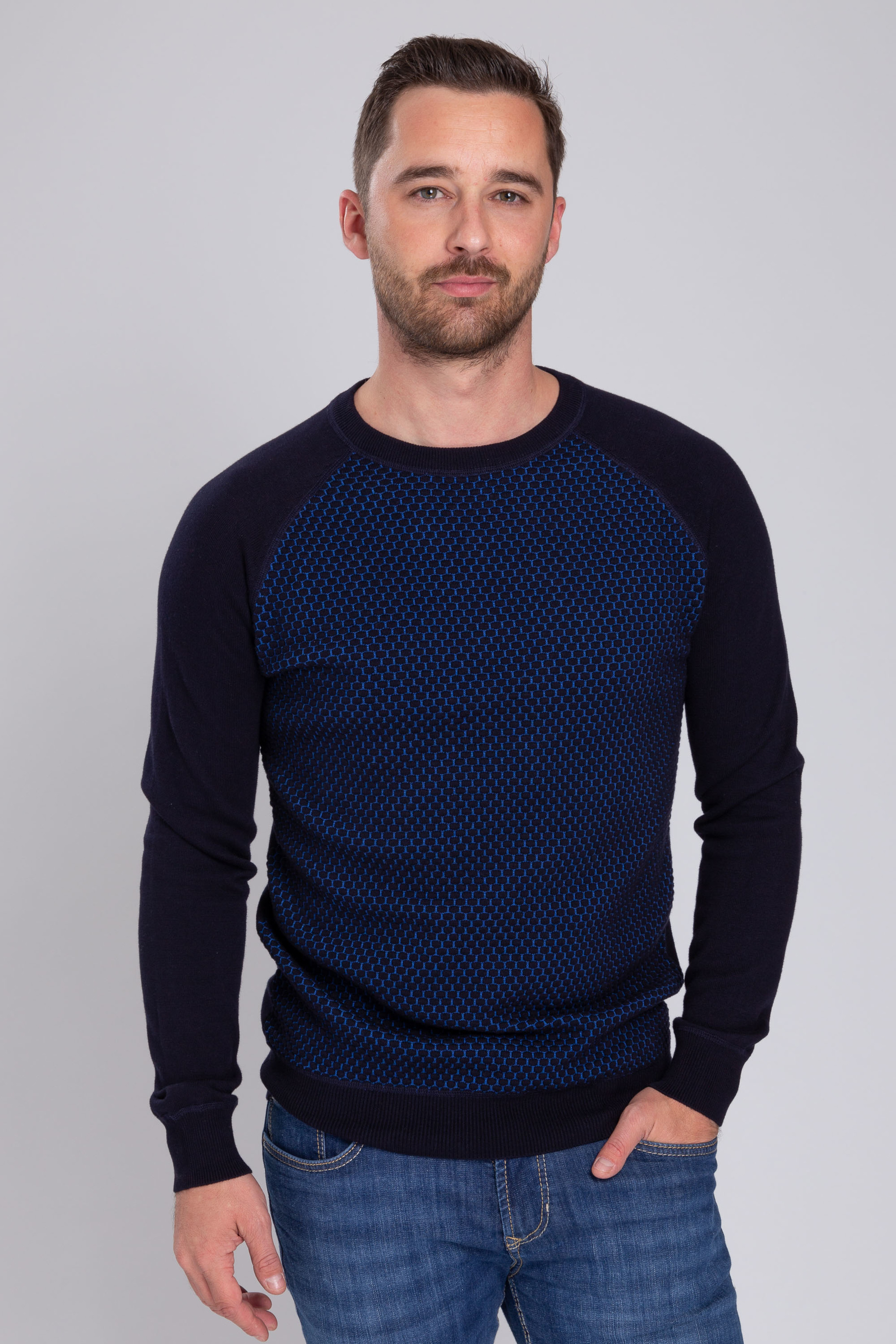Suitable Pullover Harry Navy Blue foto 4