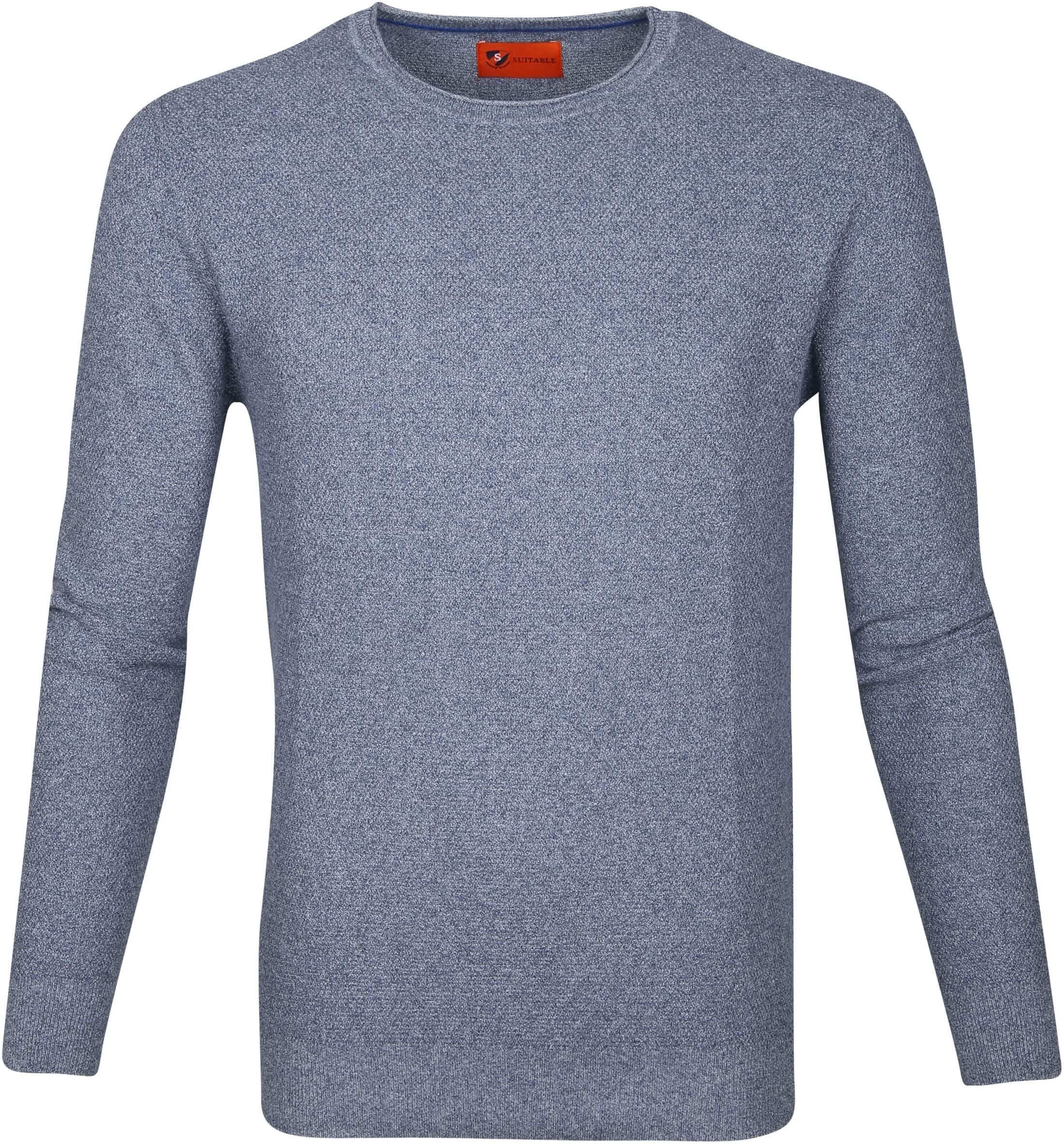 Suitable Pullover Hong Blauw foto 0