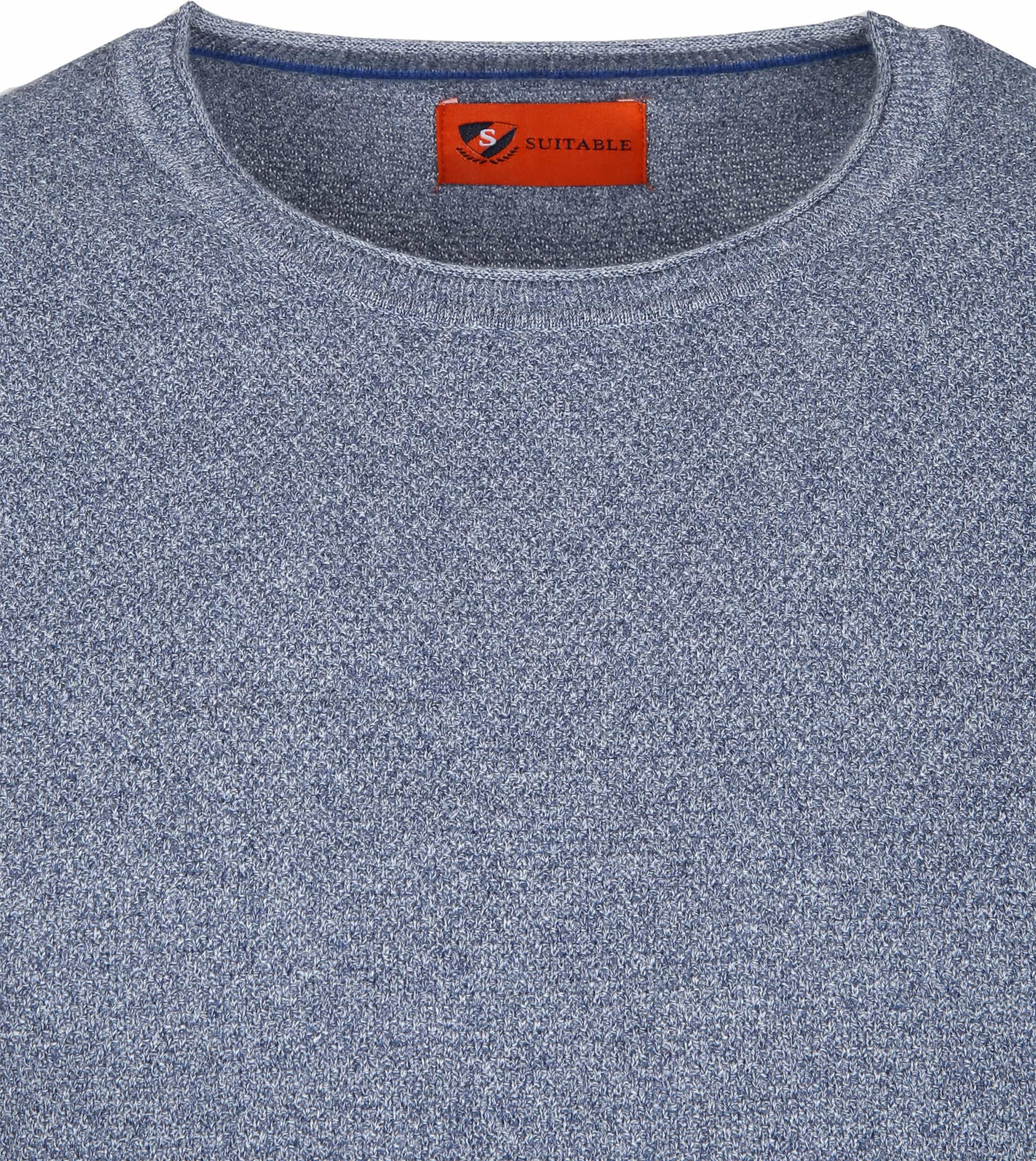 Suitable Pullover Hong Blauw foto 1