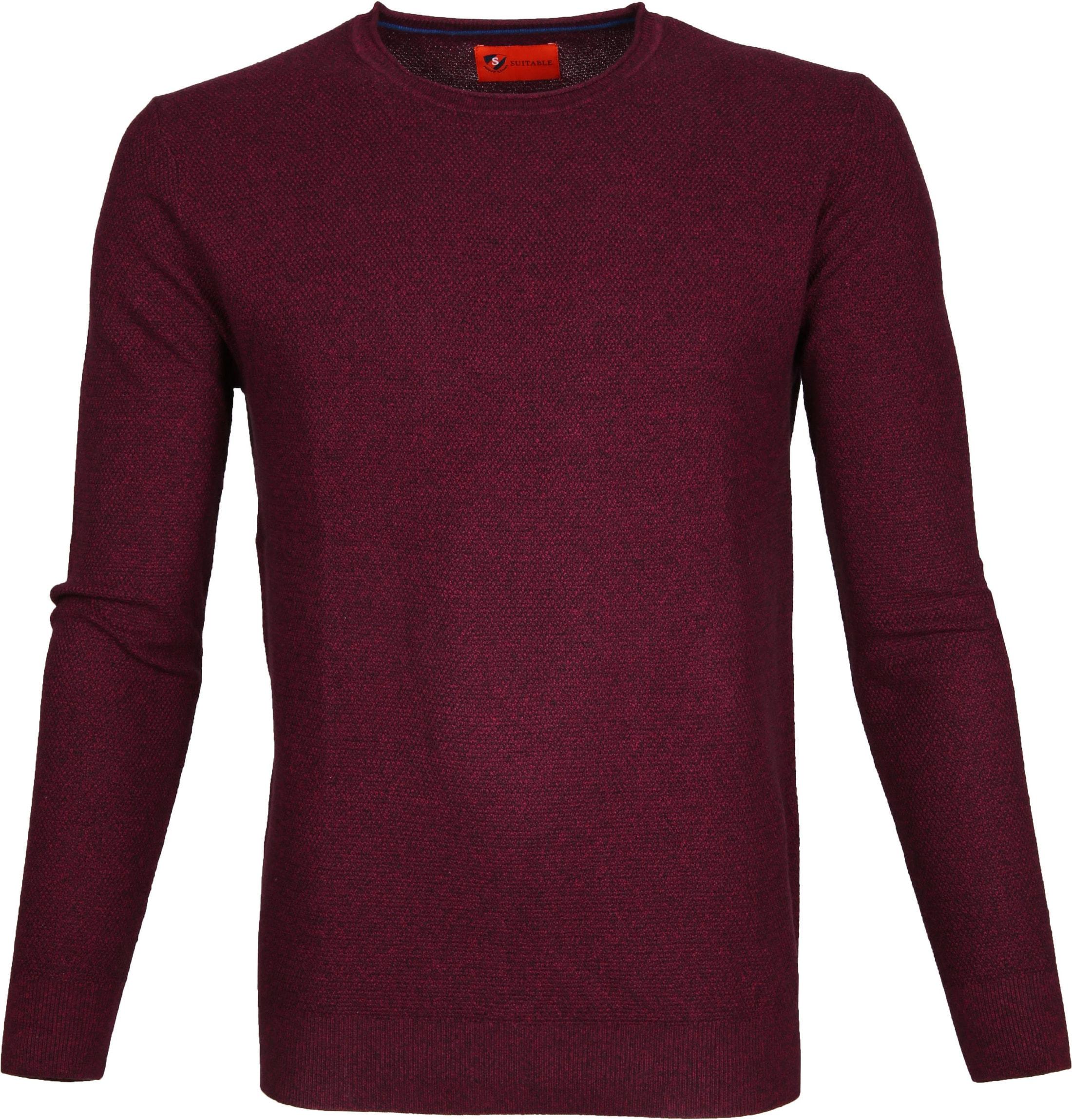 Suitable Pullover Hong Bordeaux foto 0