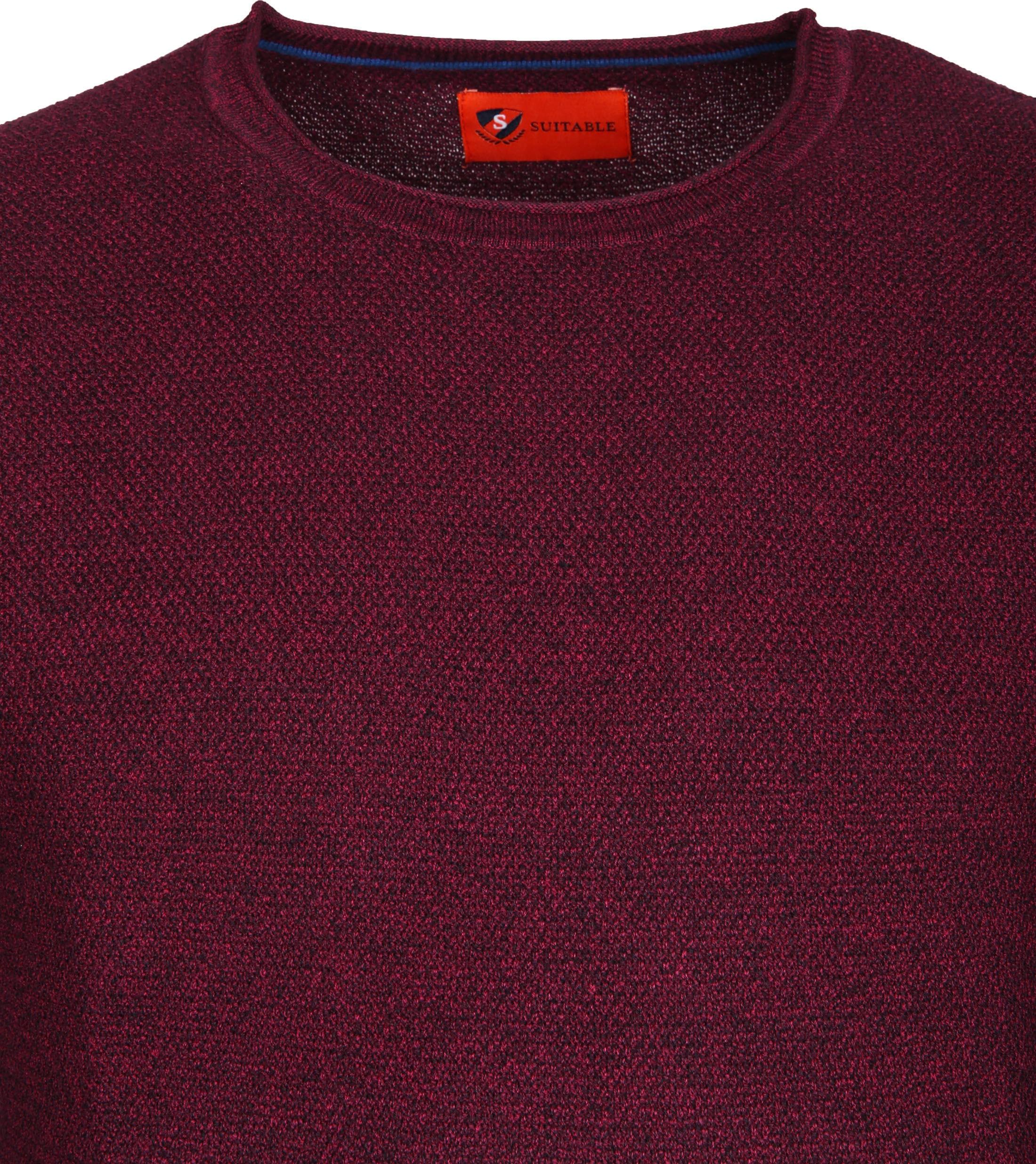 Suitable Pullover Hong Bordeaux foto 1