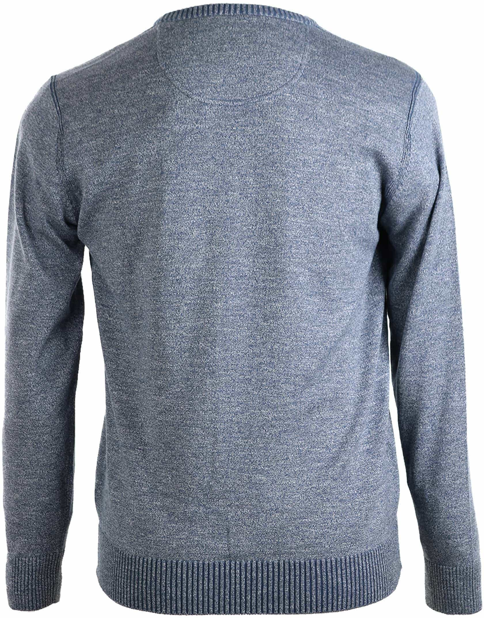 Suitable Pullover Katoen Blauw foto 1