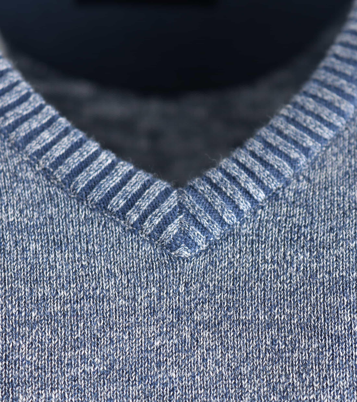 Suitable Pullover Katoen Blauw foto 2