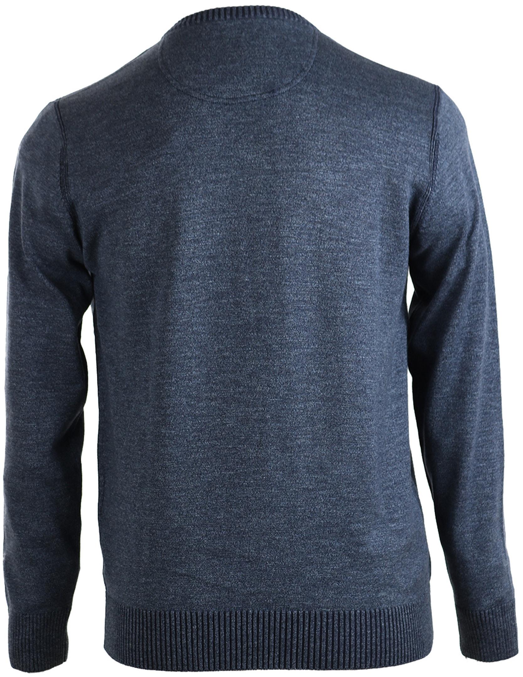 Suitable Pullover Katoen Donkerblauw foto 1