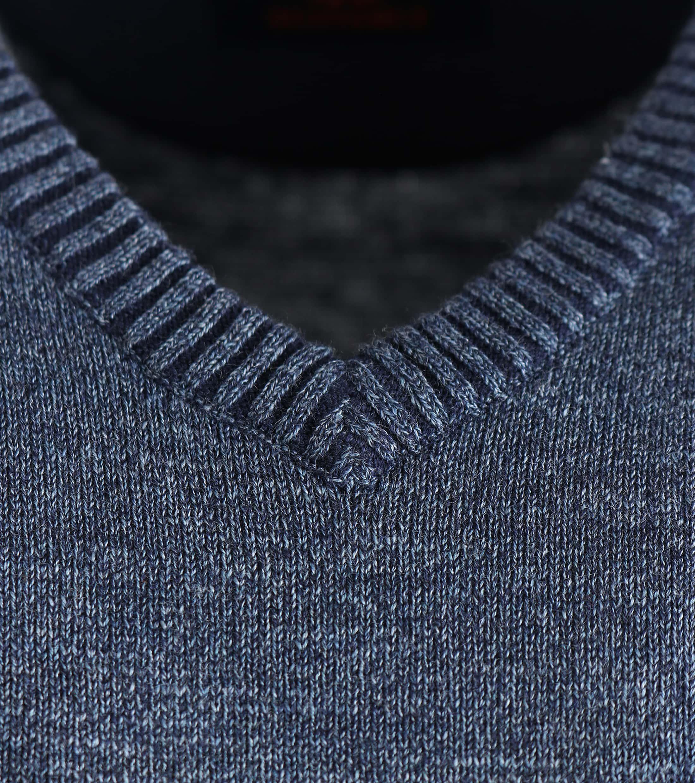 Suitable Pullover Katoen Donkerblauw foto 2