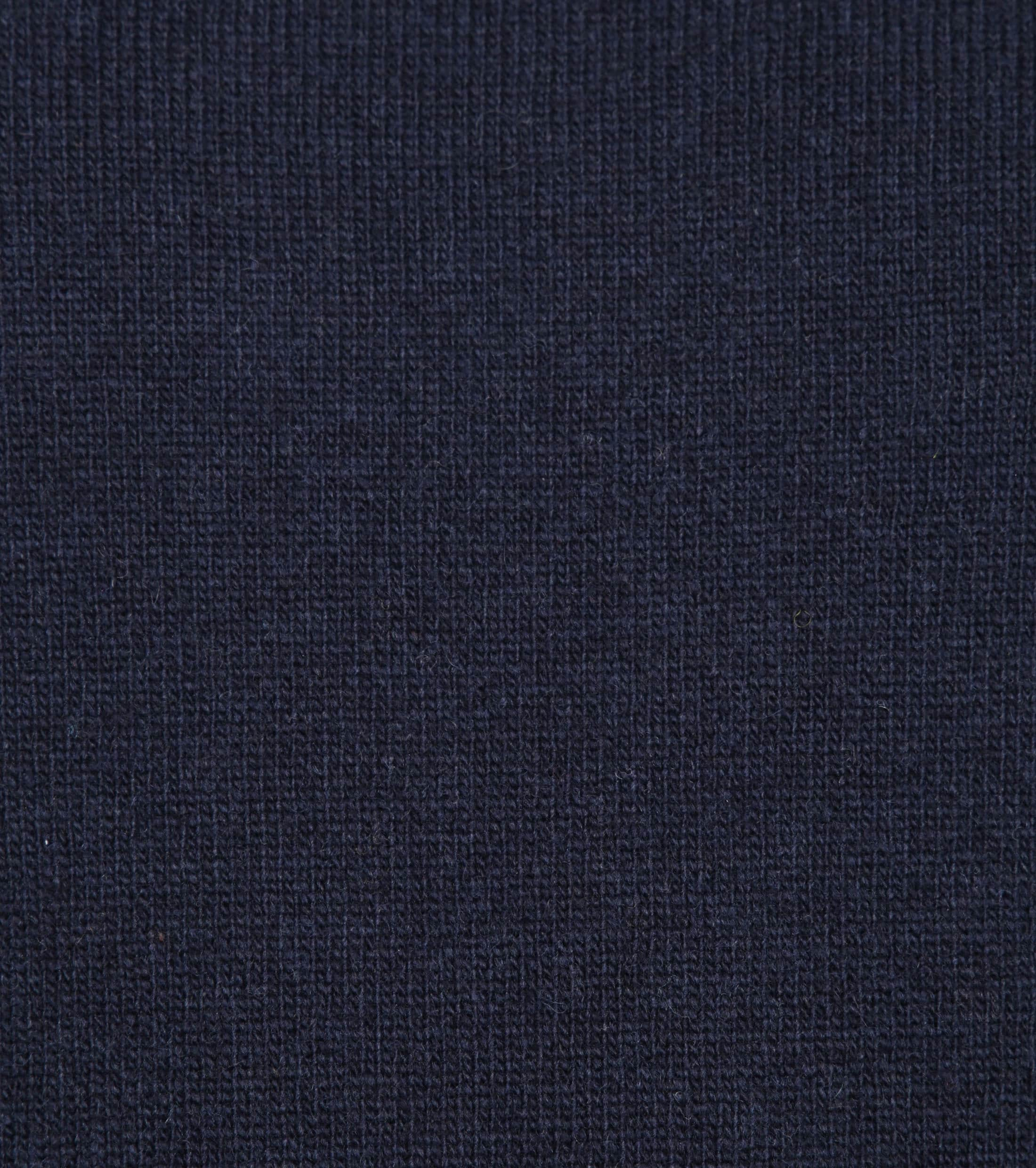 Suitable Pullover Lambswool V-Neck Navy foto 1