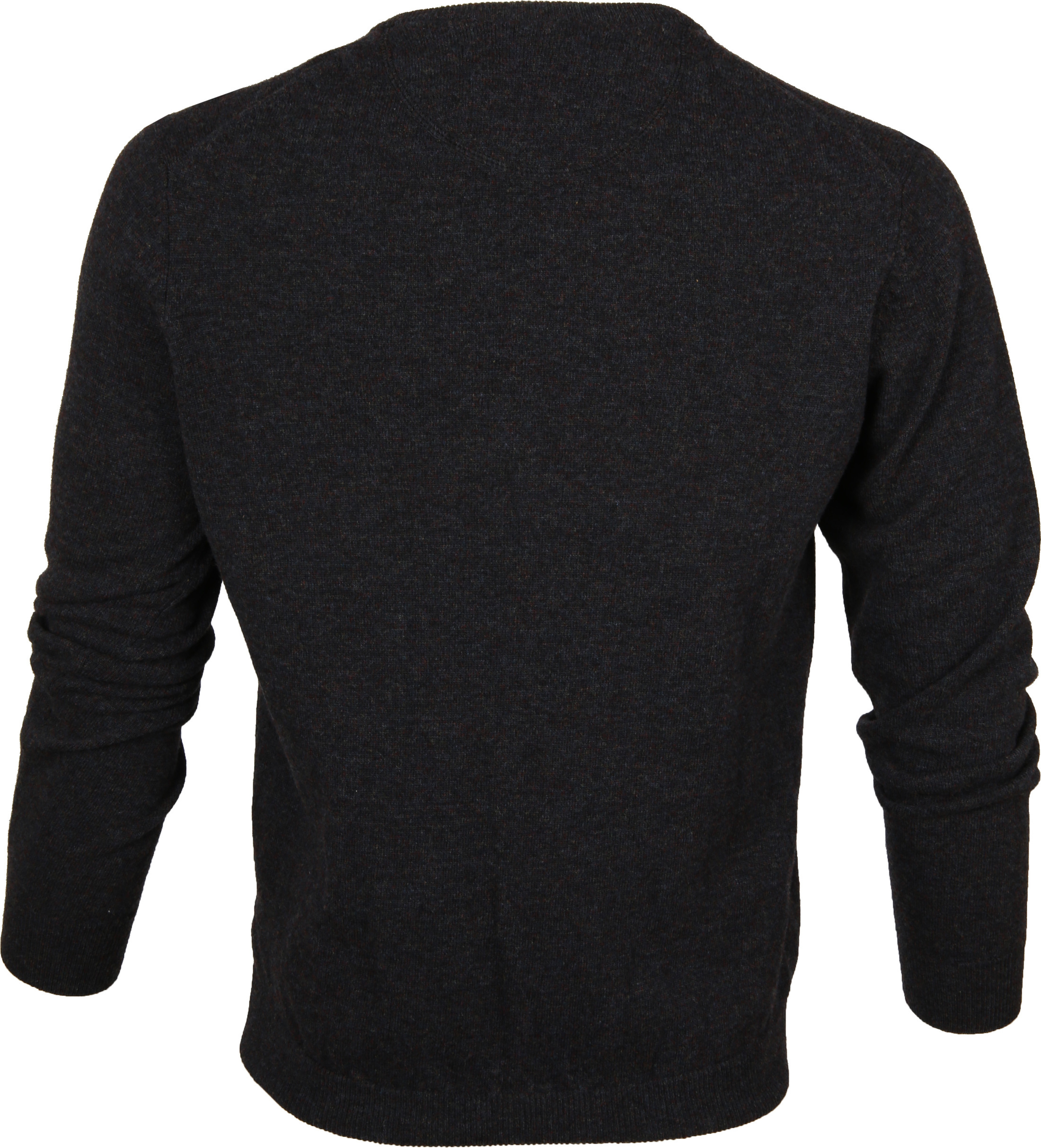 Suitable Pullover Lammwolle V-Ausschnitt Anthrazit foto 2