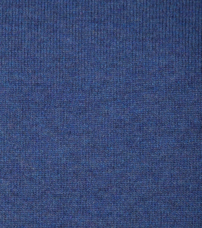 Suitable Pullover Lammwolle V-Ausschnitt Blau foto 1
