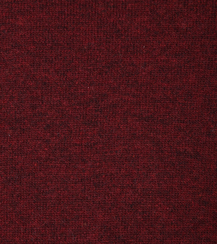 Suitable Pullover Lammwolle V-Ausschnitt Bordeaux foto 1