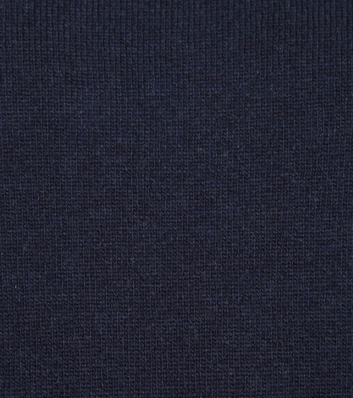 Suitable Pullover Lammwolle V-Ausschnitt Dunkelblau foto 1
