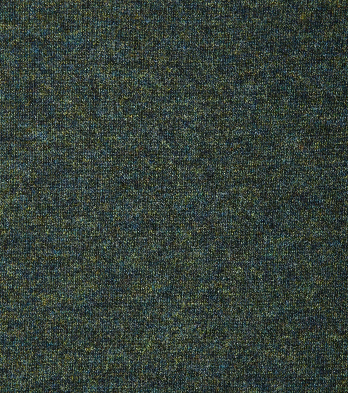 Suitable Pullover Lammwolle V-Ausschnitt Dunkelgrün foto 1