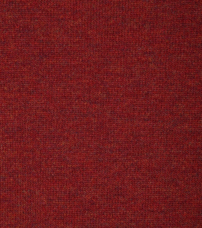 Suitable Pullover Lammwolle V-Ausschnitt Dunkelrot foto 1
