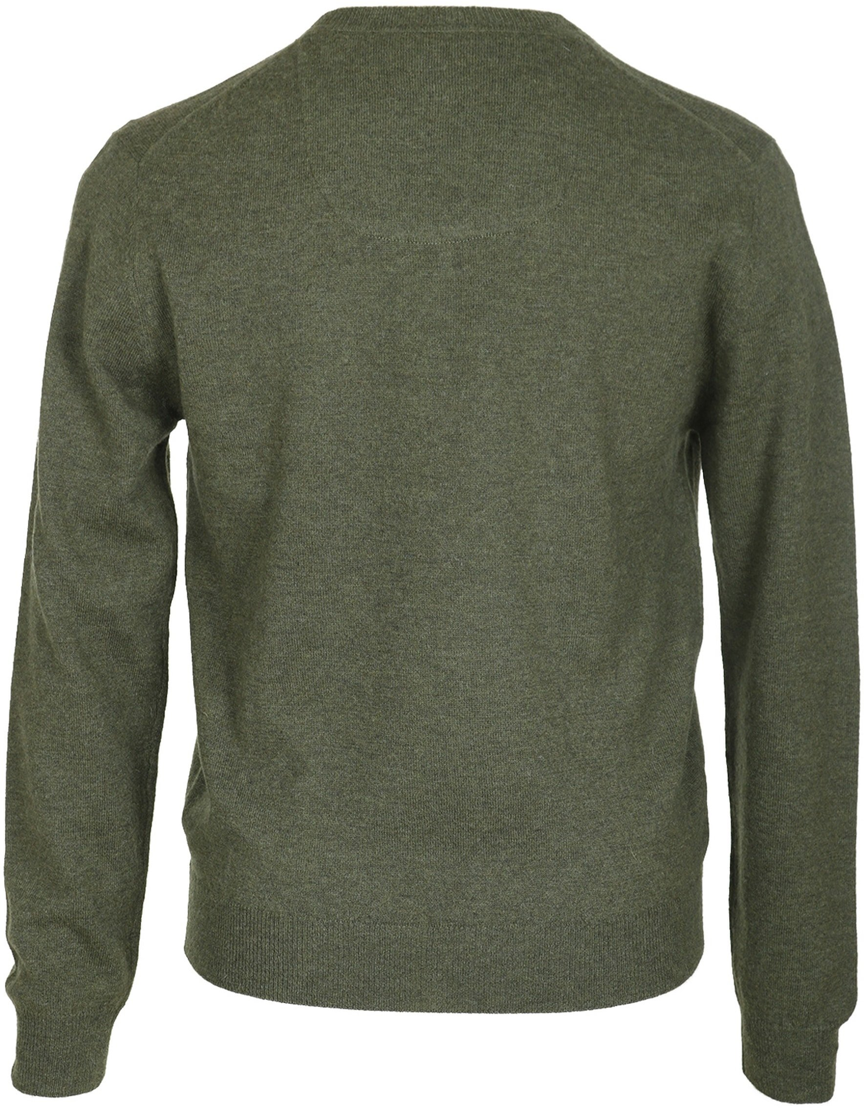 Suitable Pullover Lamswol Legergroen foto 1