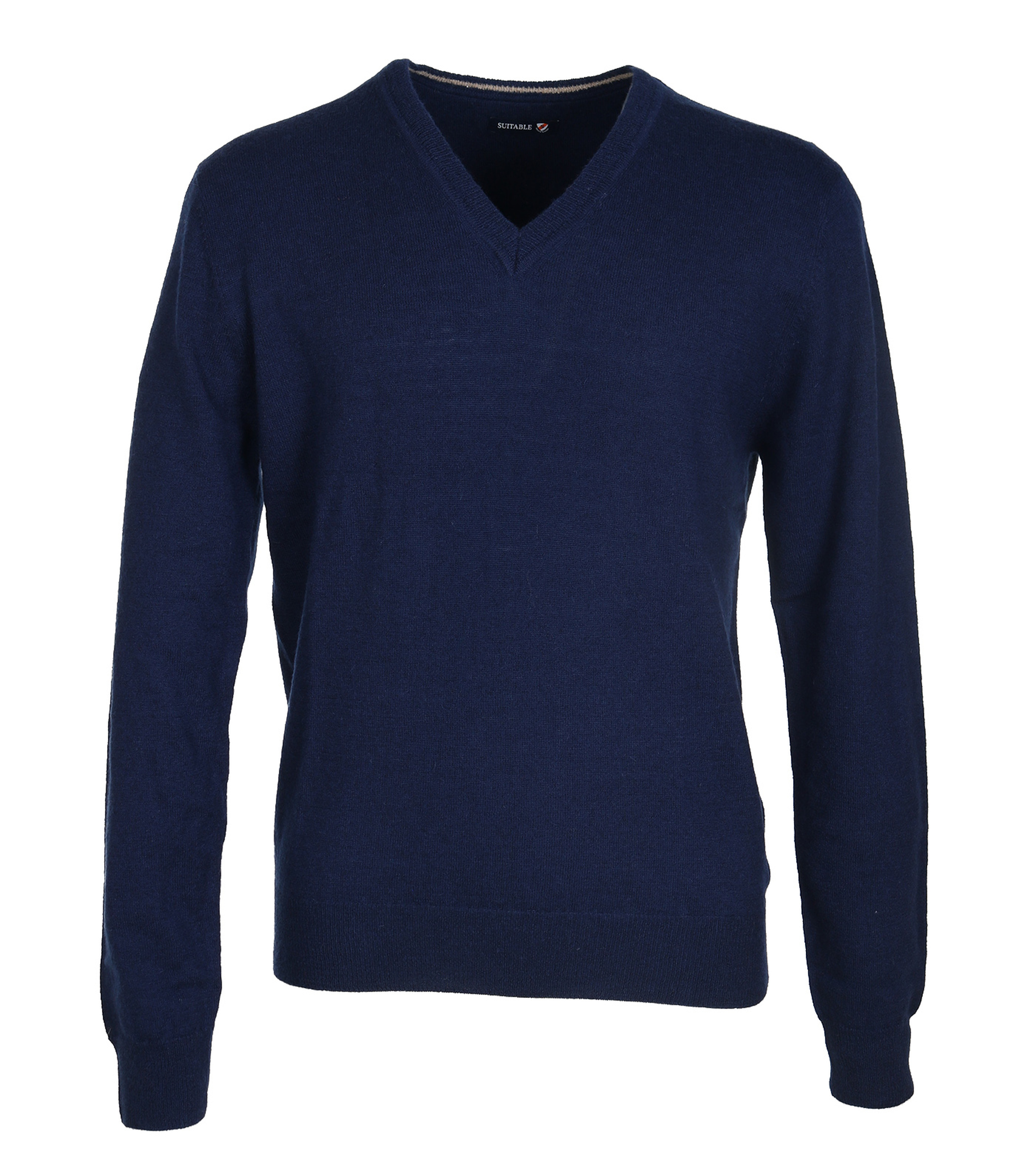 Suitable Pullover Lamswol Navy foto 0