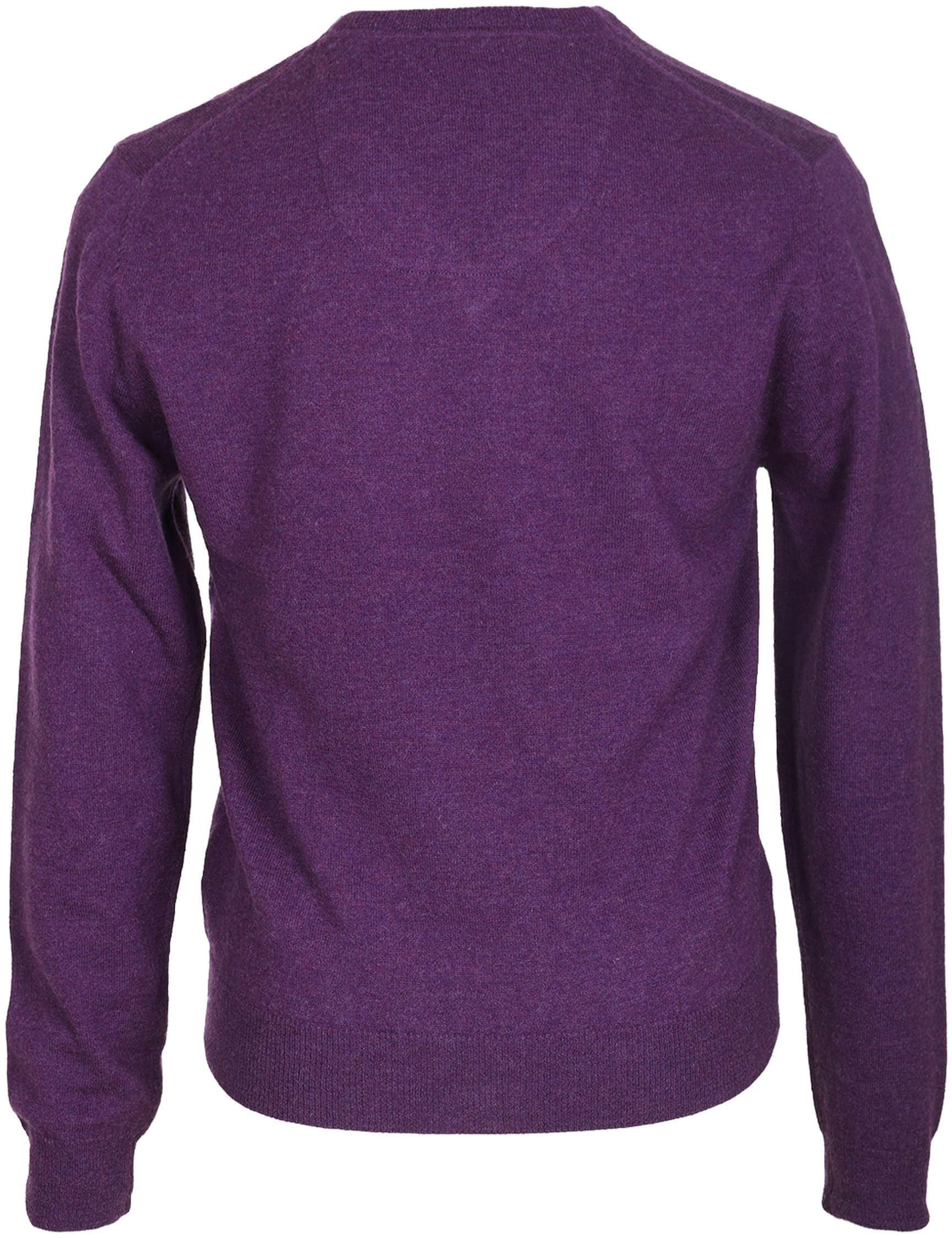 Suitable Pullover Lamswol Paars foto 1