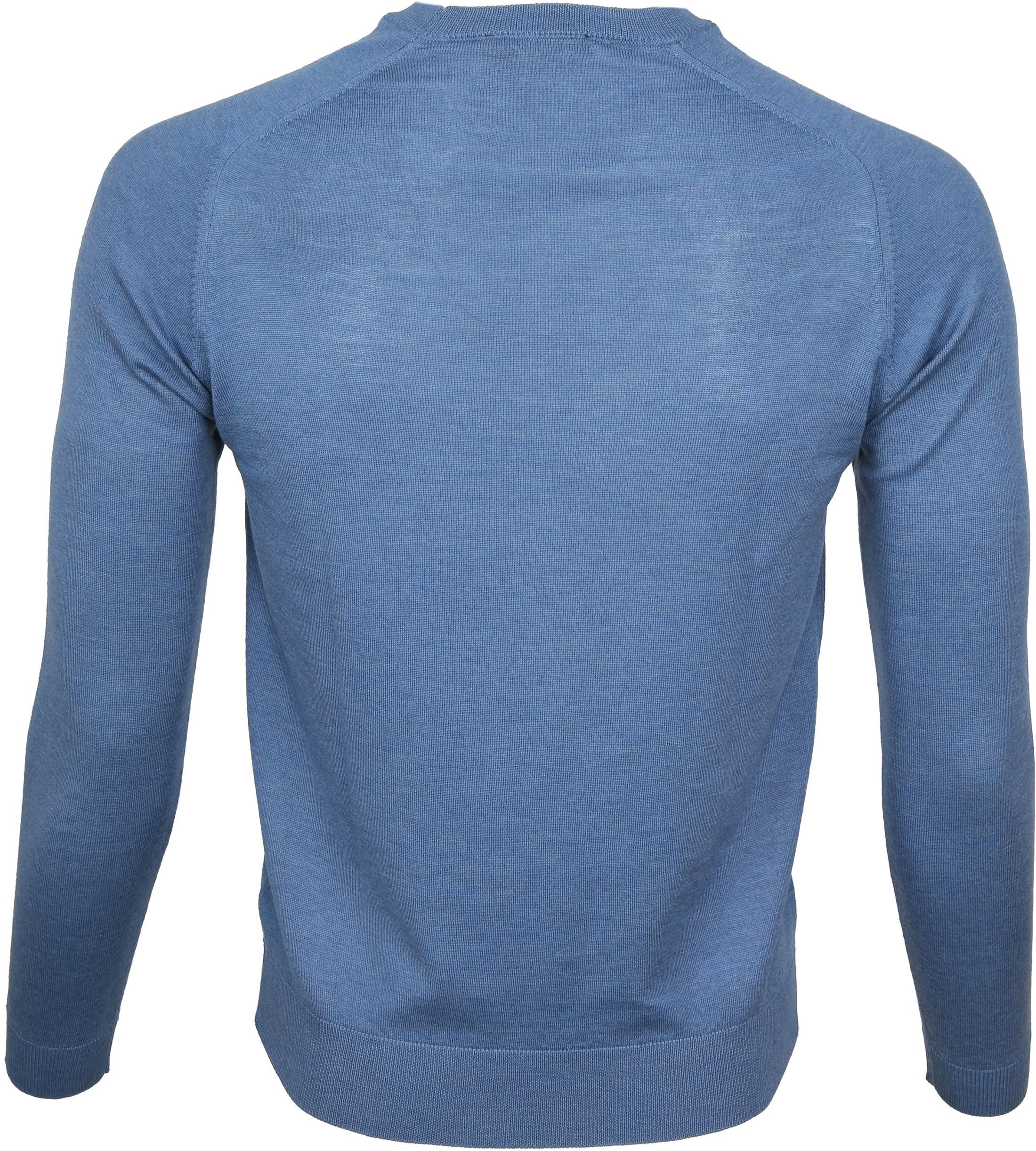 Suitable Pullover Merino Blauw foto 2