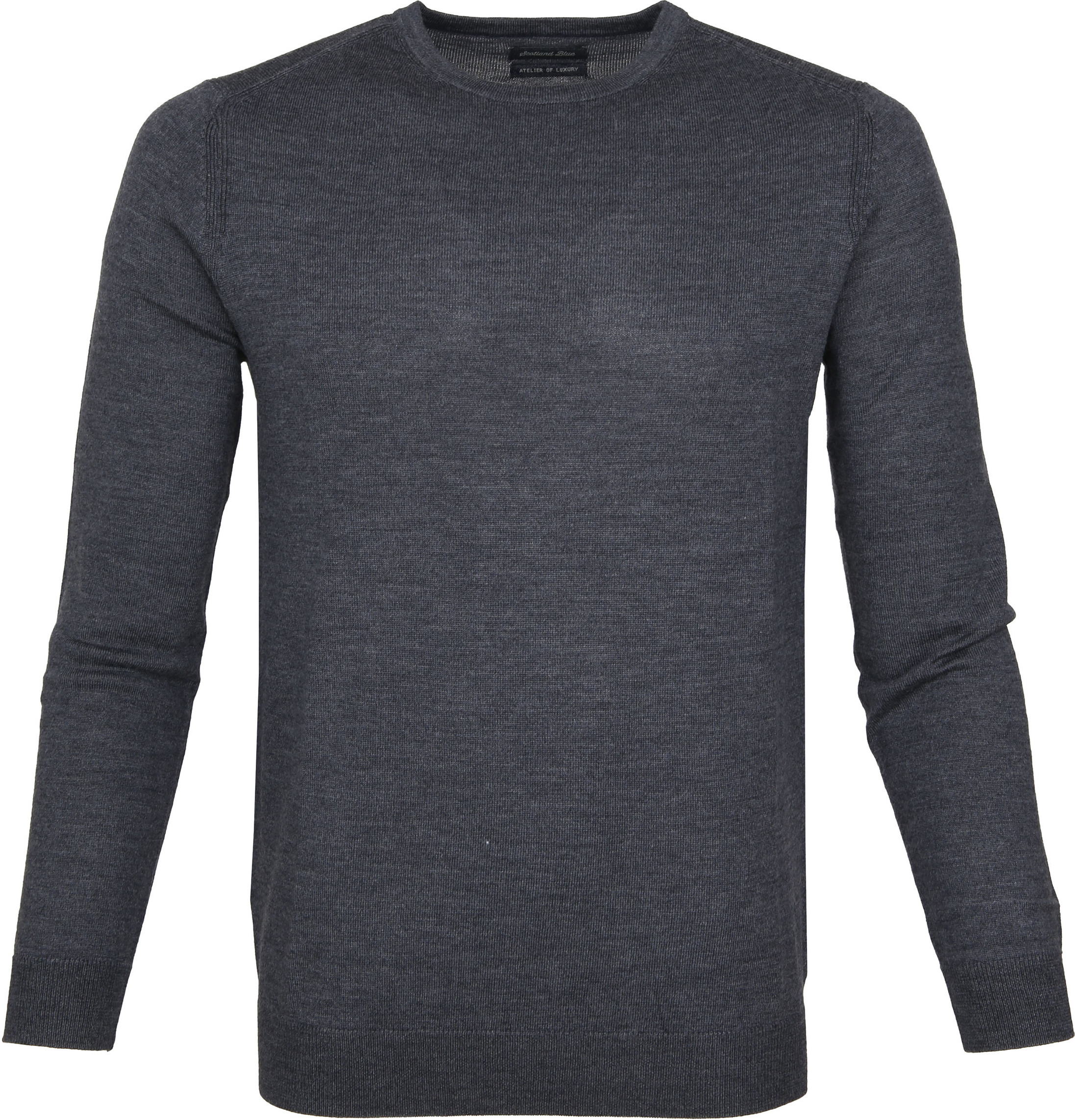 Suitable Pullover Merino Rick Antraciet foto 0