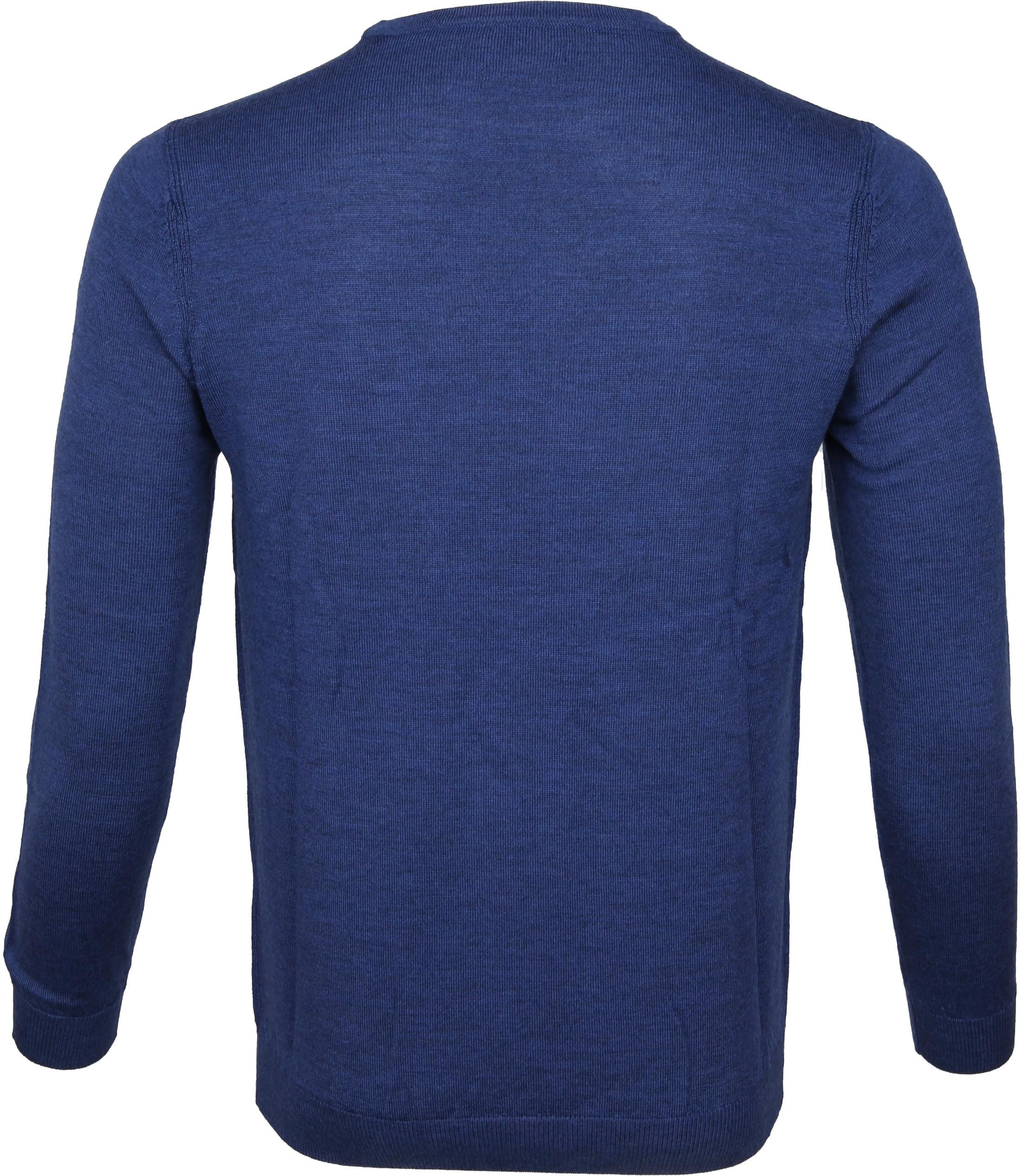 Suitable Pullover Merino Rick Blauw foto 2