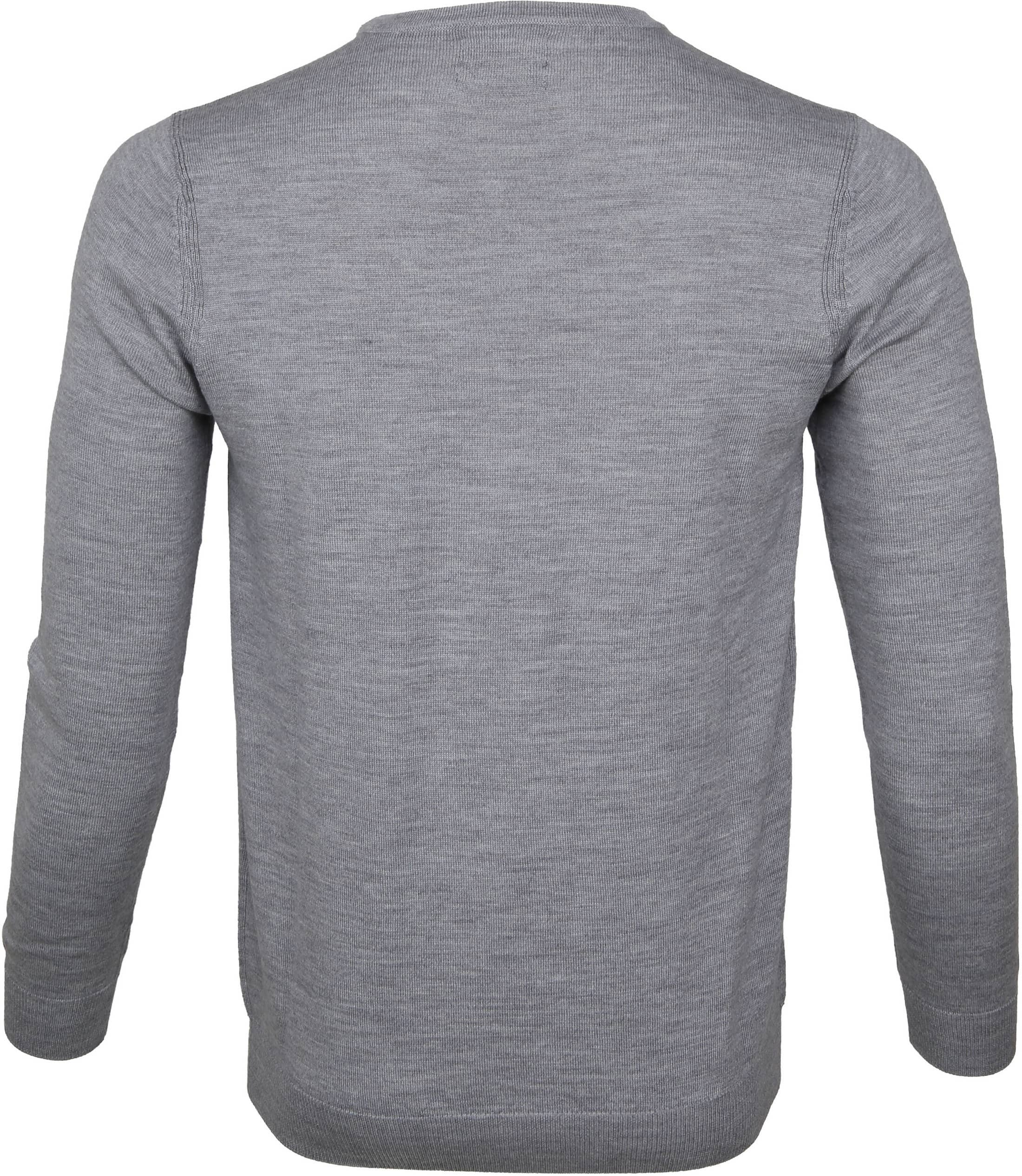Suitable Pullover Merino Rick Grey foto 2