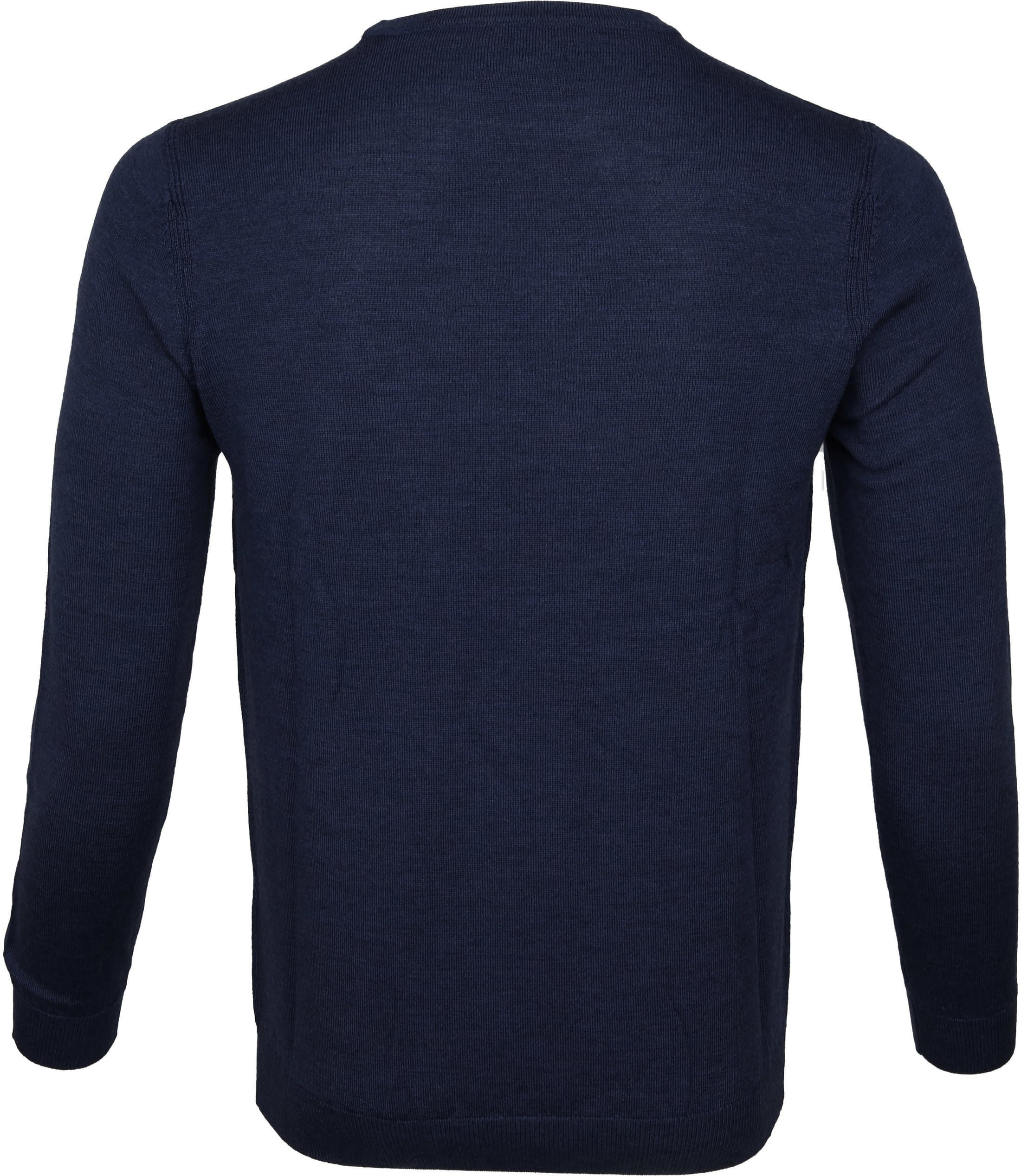 Suitable Pullover Merino Rick Navy foto 2
