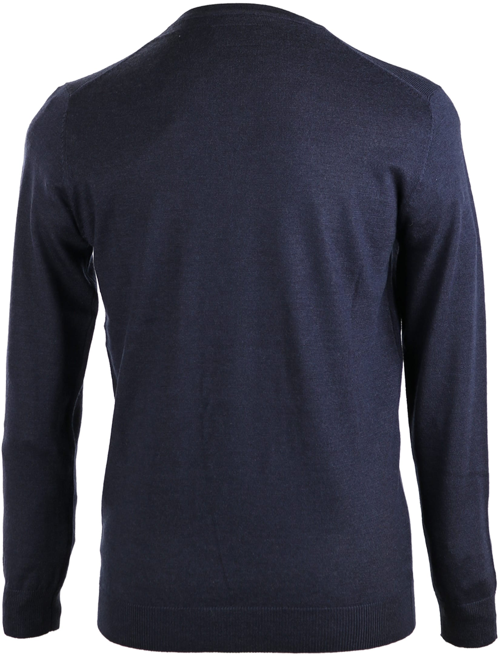 Suitable Pullover Merino Wol Donkerblauw foto 1
