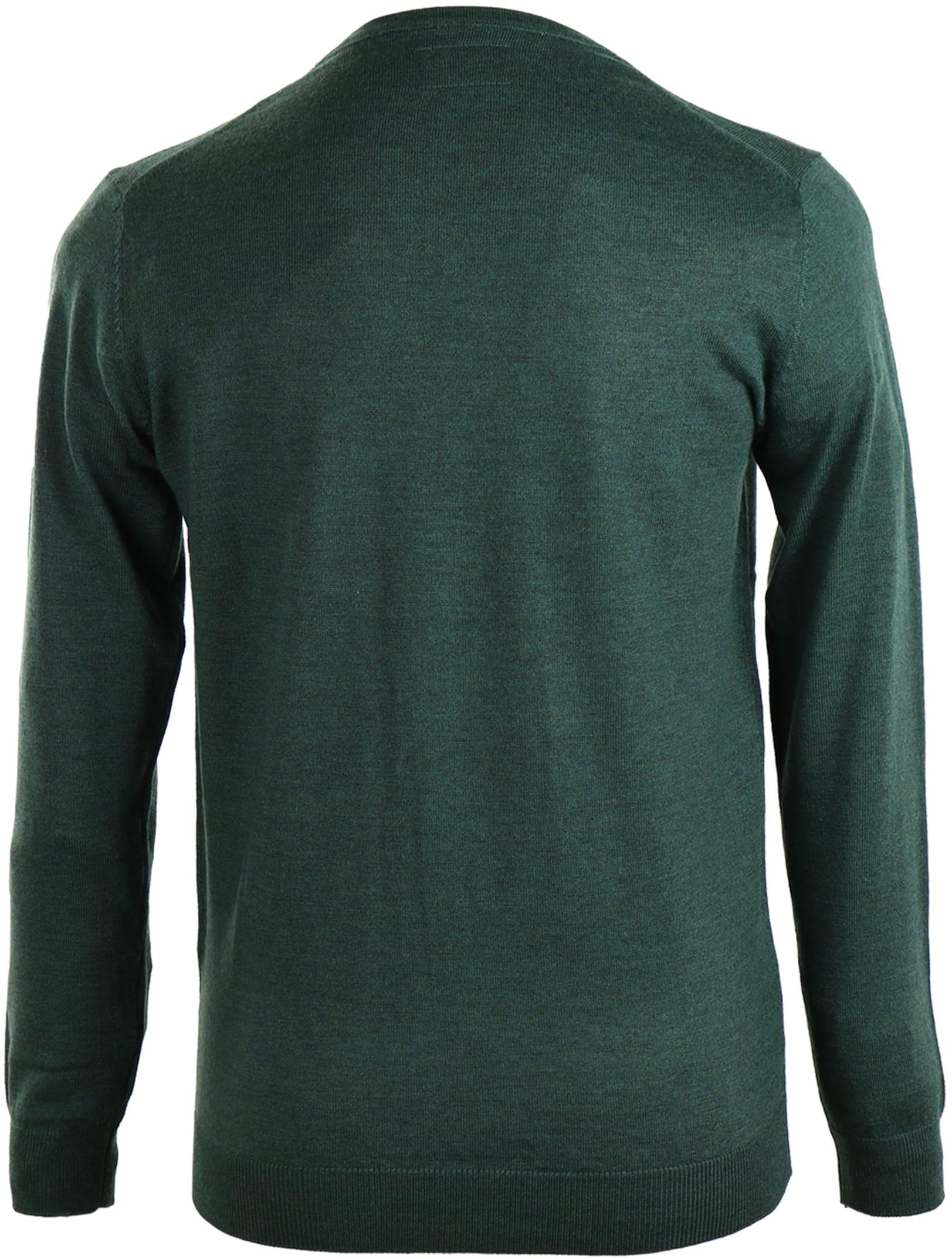 Suitable Pullover Merino Wol Groen foto 1