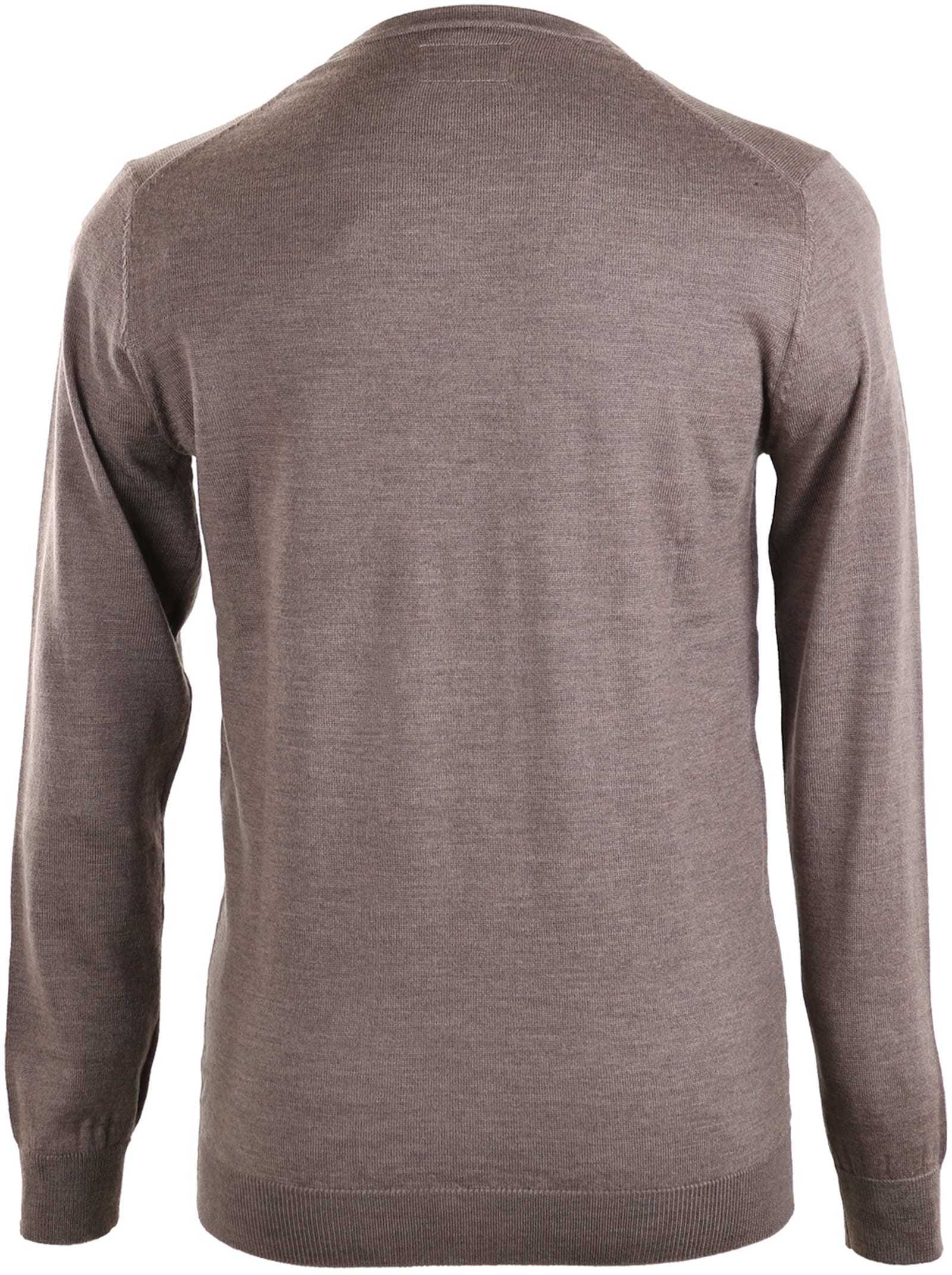 Suitable Pullover Merino Wool Brown foto 1