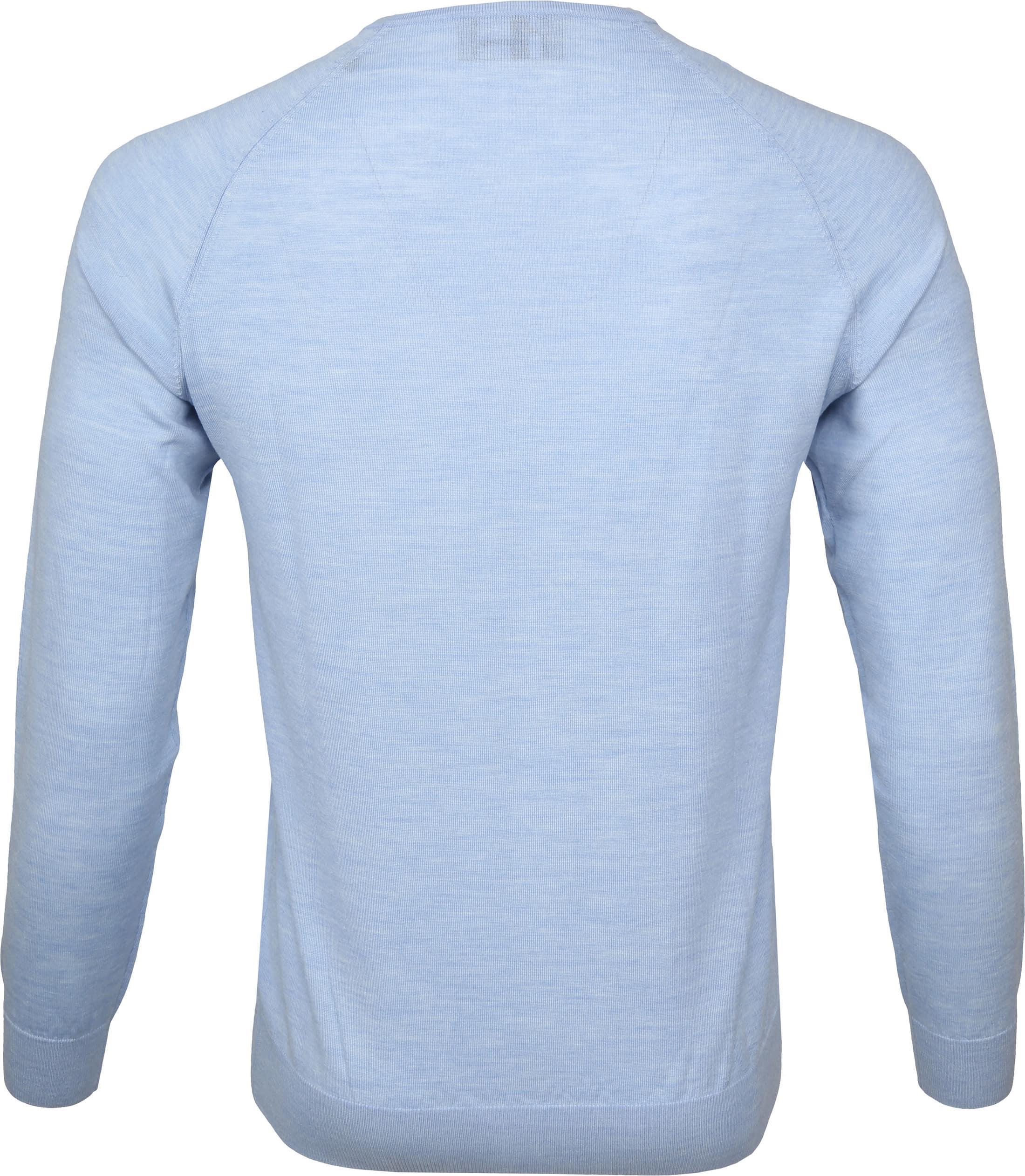 Suitable Pullover Prestige Merino Lichtblauw foto 2